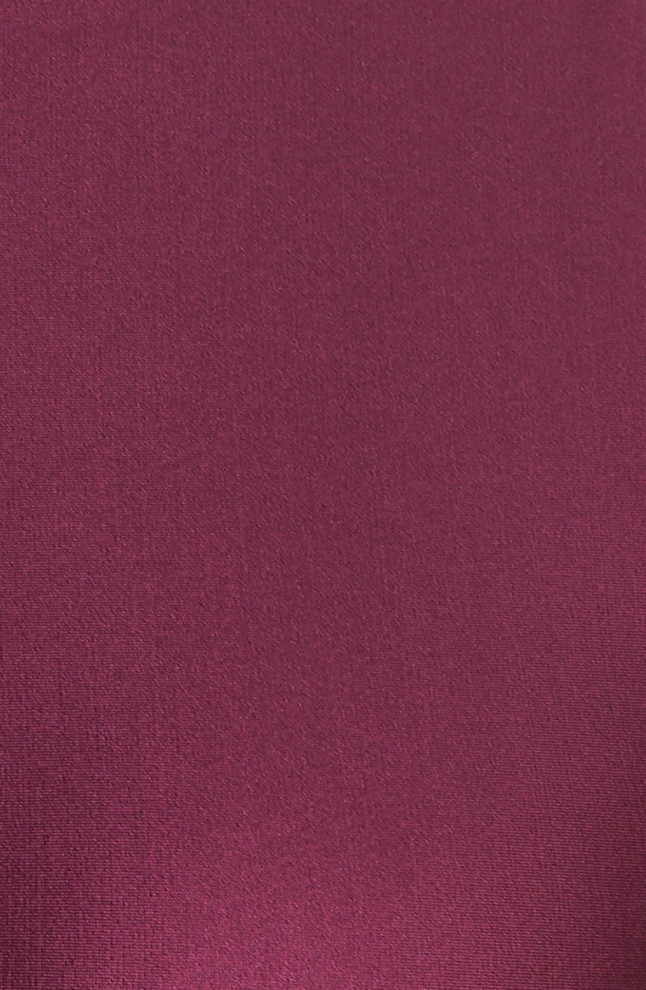 NikeLab Collection Dri-FIT Women's Crop Tank,                             Alternate thumbnail 6, color,                             Bordeaux