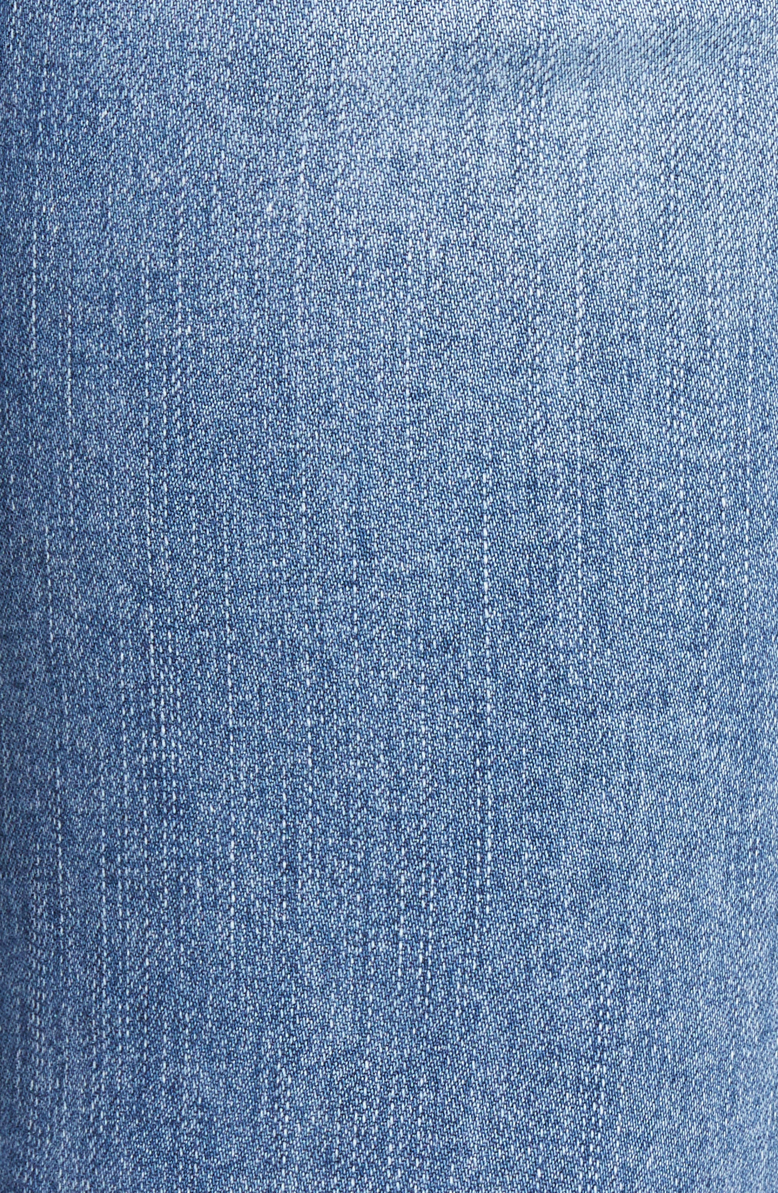 Reese Ripped Raw Edge Ankle Jeans,                             Alternate thumbnail 5, color,                             Assess