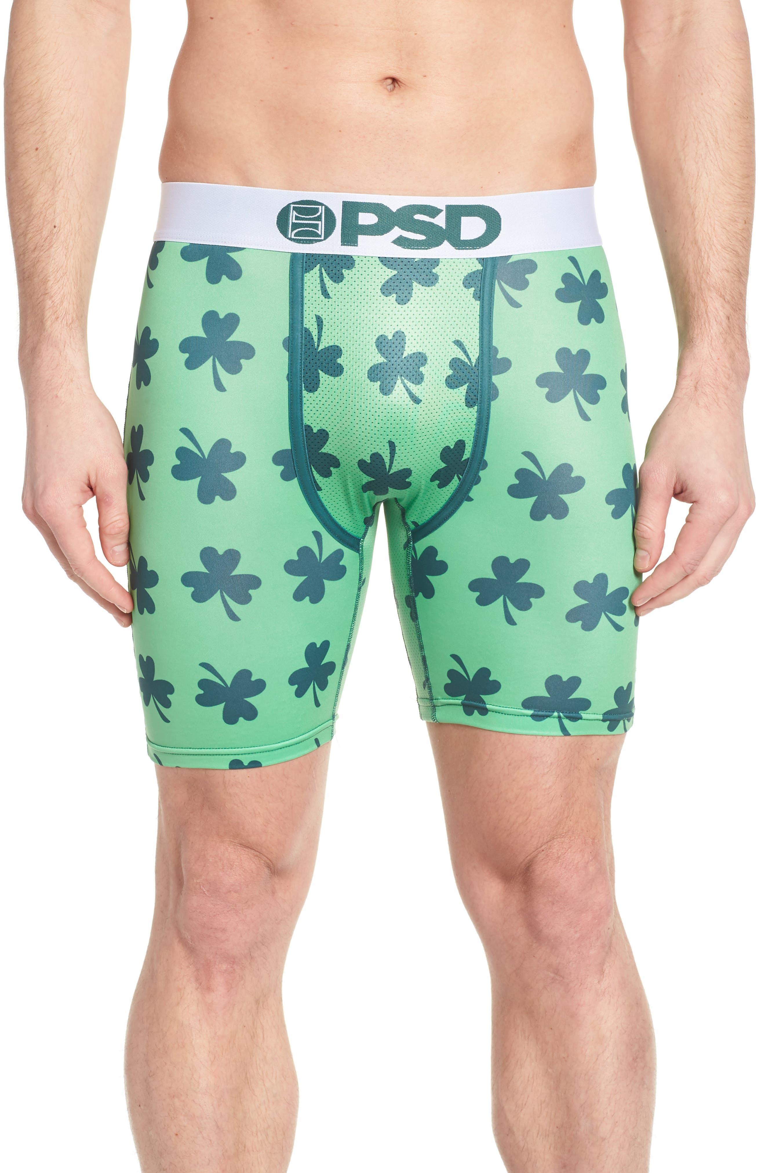 Lucky Boxer Briefs,                         Main,                         color, Green