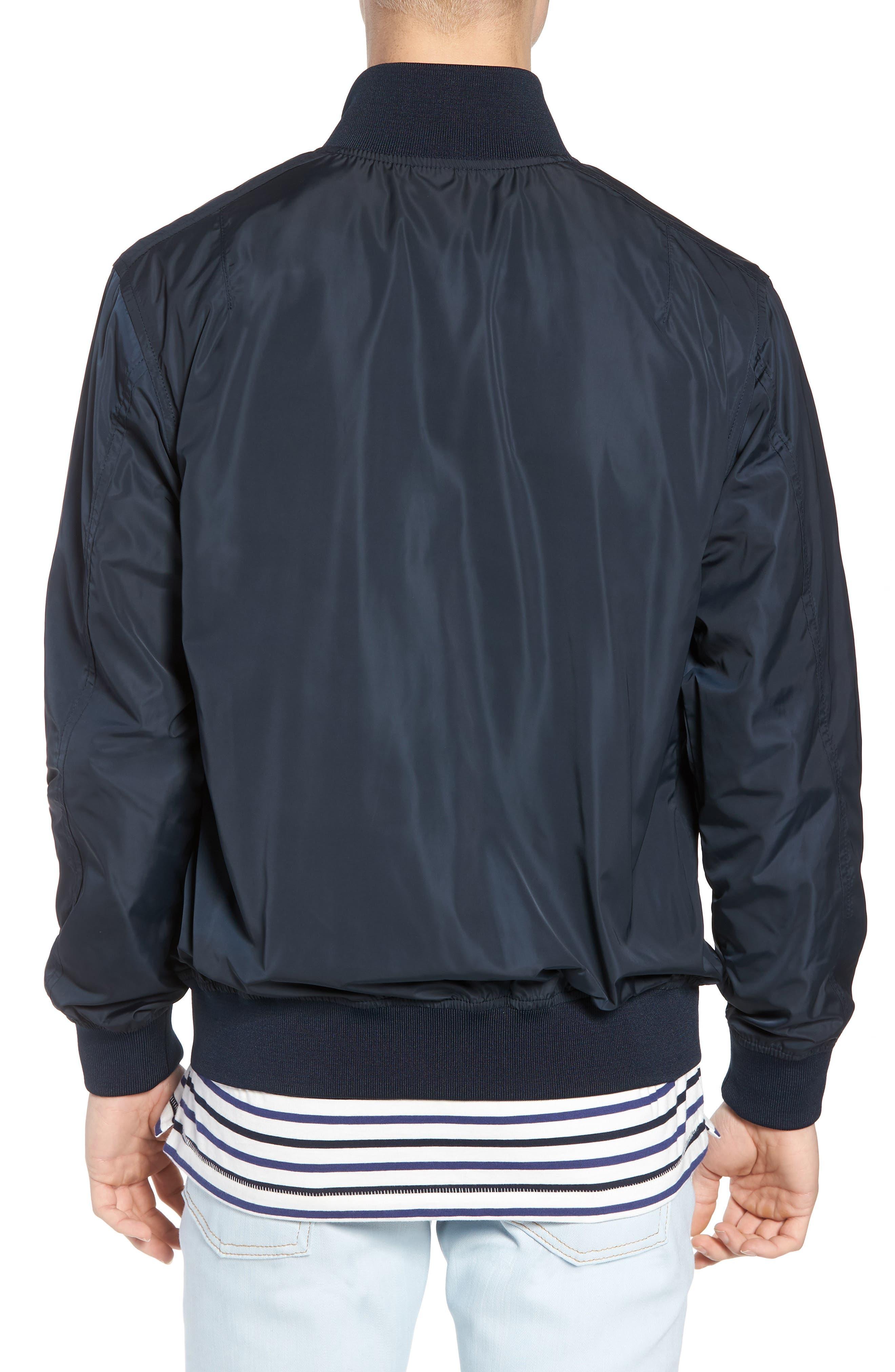 Classic Fit Track Jacket,                             Alternate thumbnail 2, color,                             Dark Blue