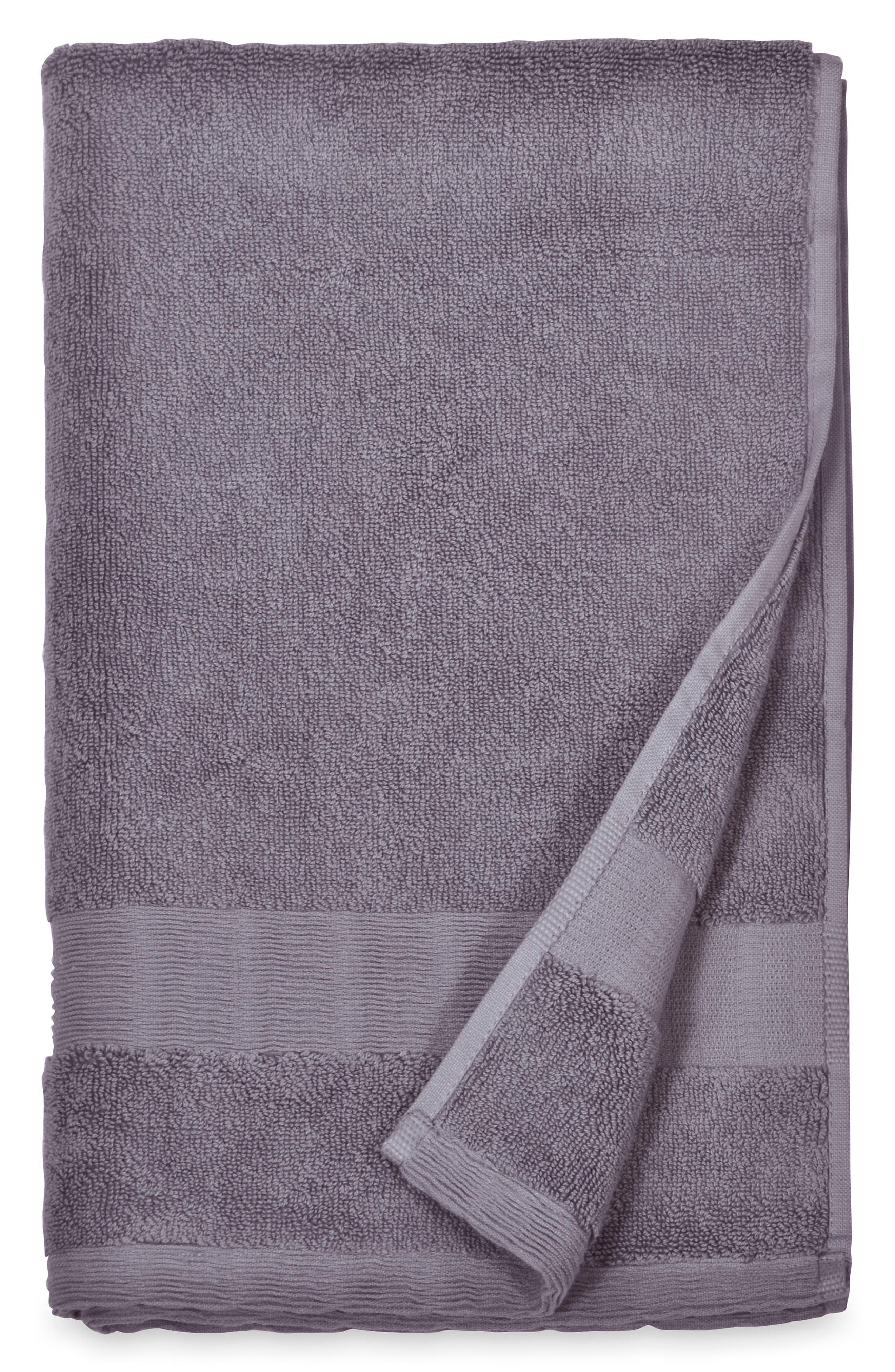 Mercer Hand Towel,                         Main,                         color, Dusty Lavender