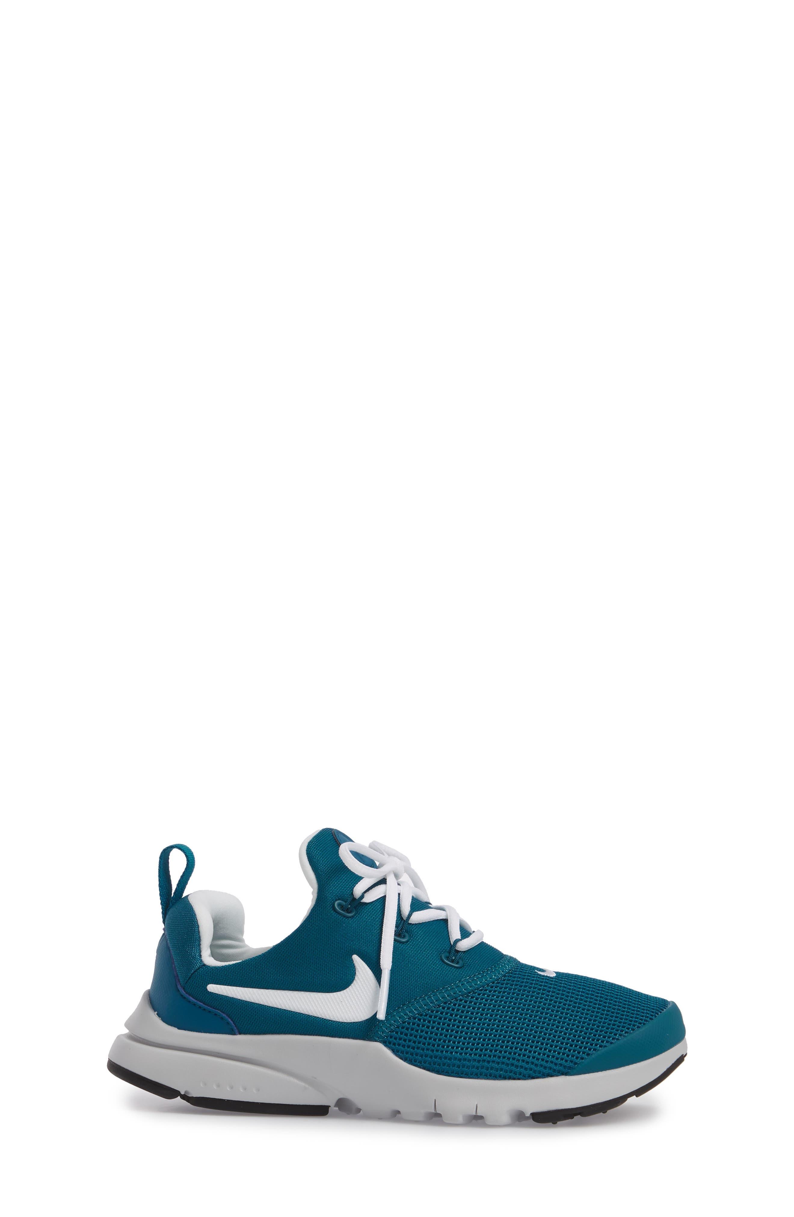 Presto Fly Sneaker,                             Alternate thumbnail 3, color,                             Green Abyss/ Platinum/ Black