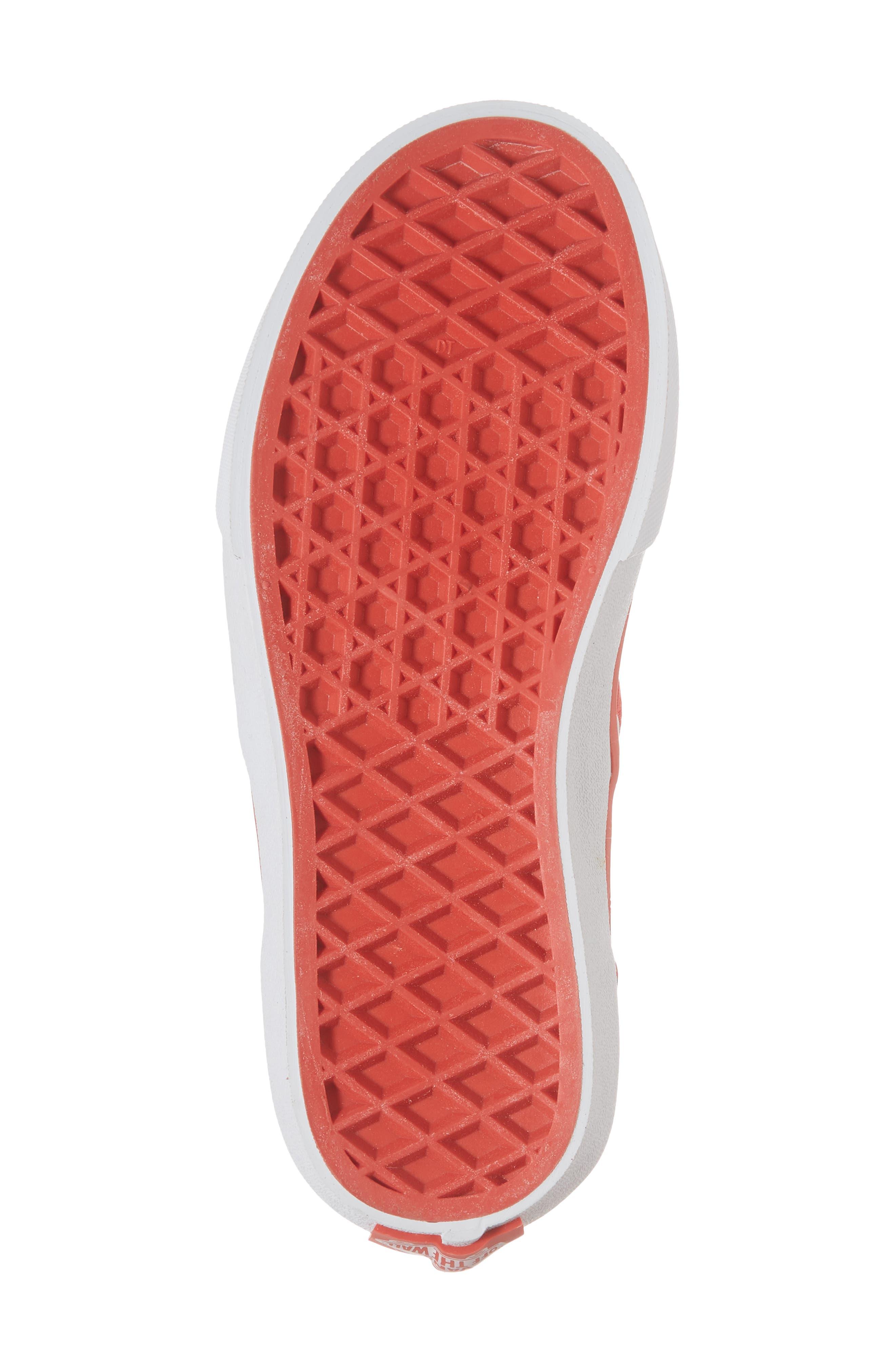 Classic Glitter Fruit Slip-On Sneaker,                             Alternate thumbnail 6, color,                             White/ Multi Glitter Fruits