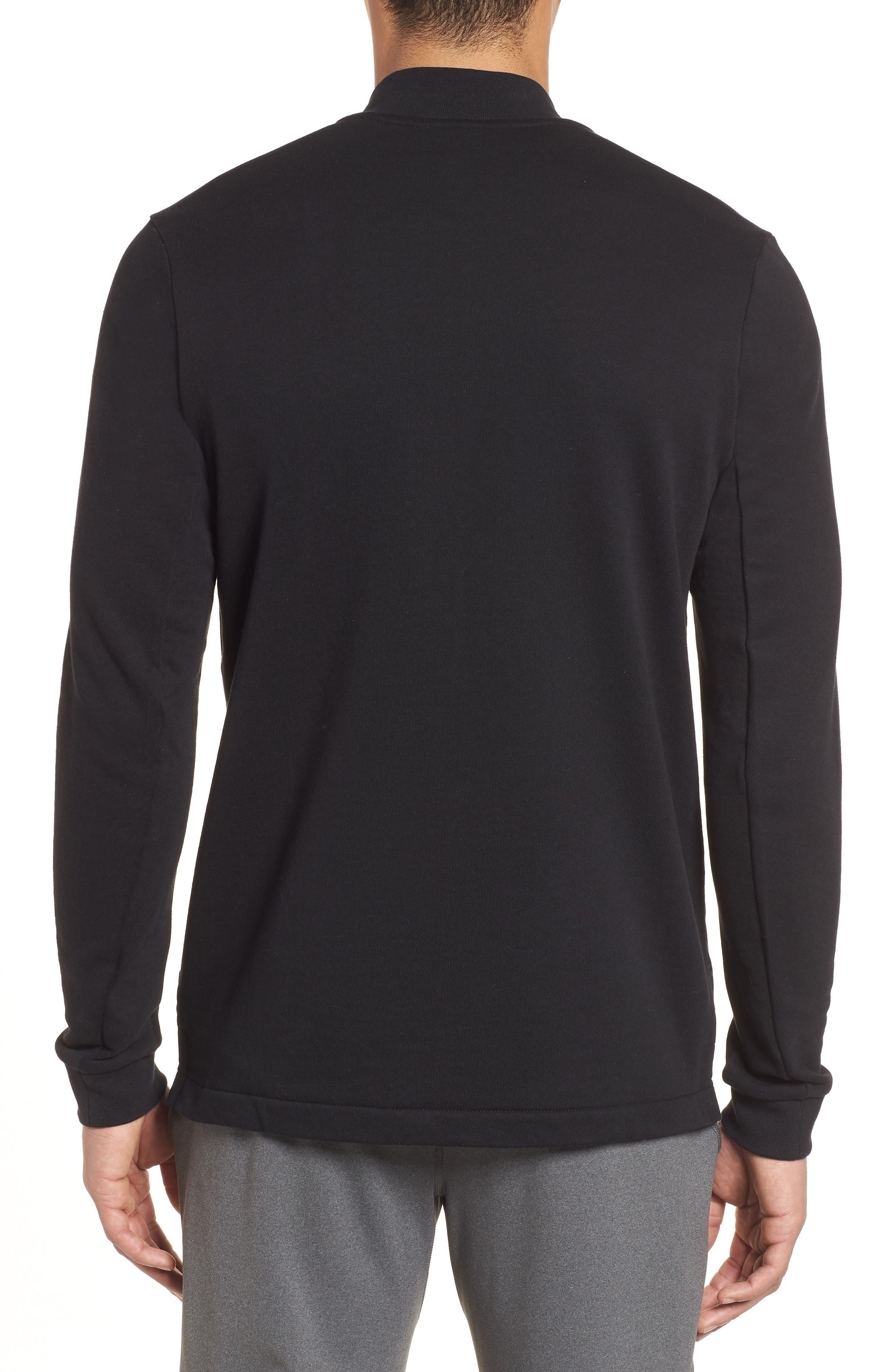 NSW Modern Track Jacket,                             Alternate thumbnail 2, color,                             Black/ Black