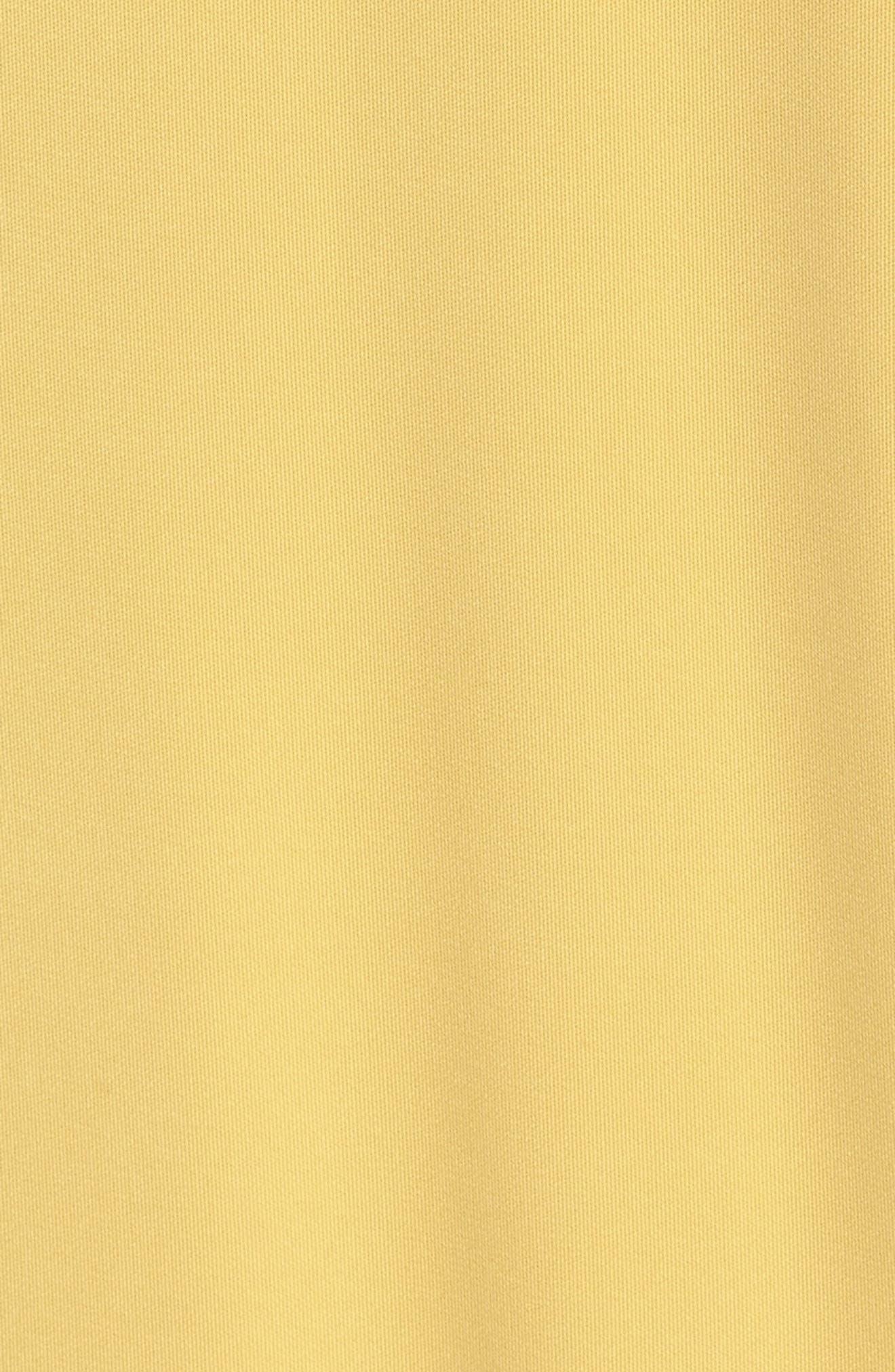 Recollect Slinky Side Tie Midi Dress,                             Alternate thumbnail 5, color,                             Honey