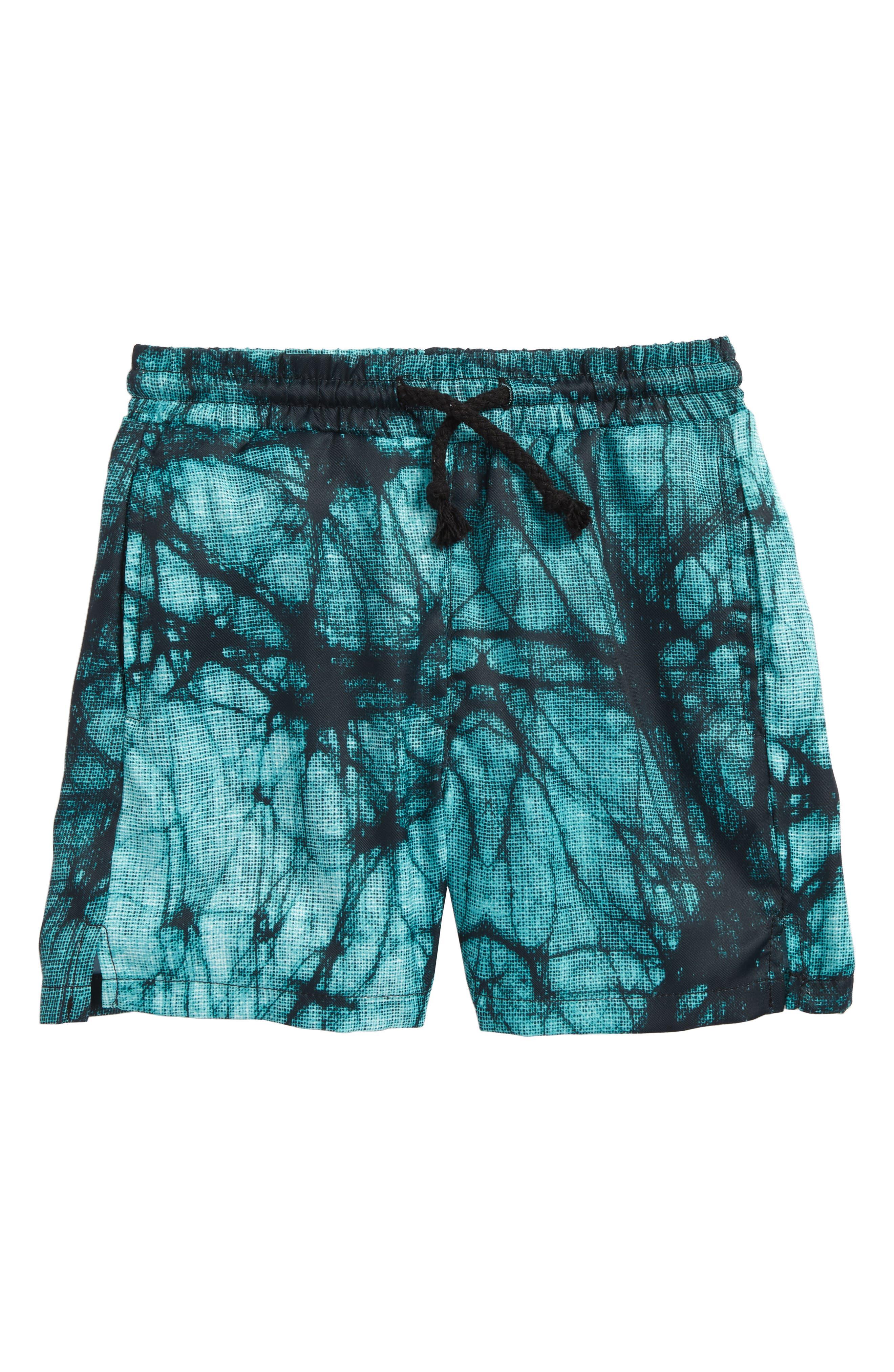 Splash Swim Trunks,                         Main,                         color, Aqua