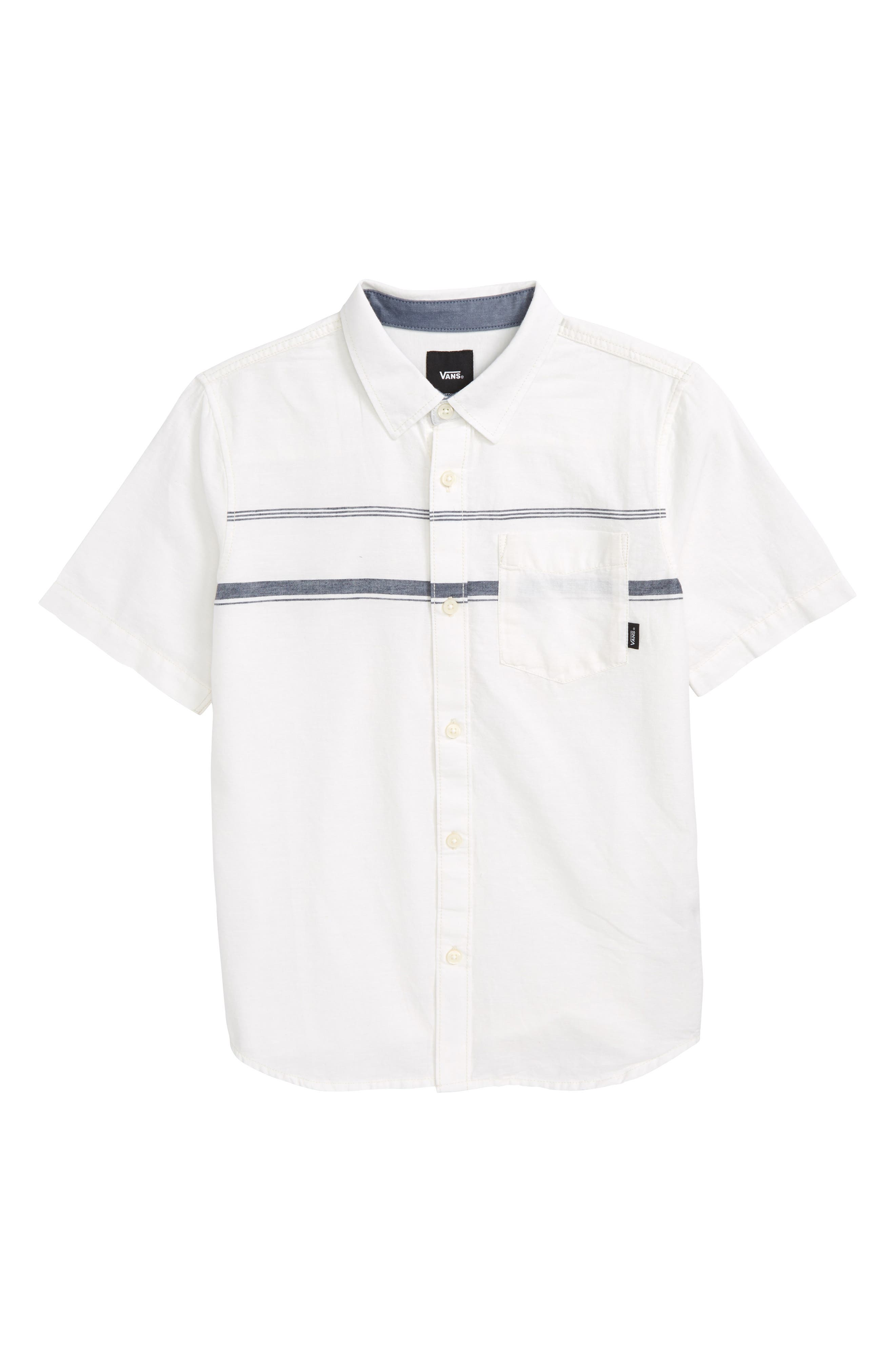 Alternate Image 1 Selected - Vans Thurber Boys Woven Shirt (Big Boys)