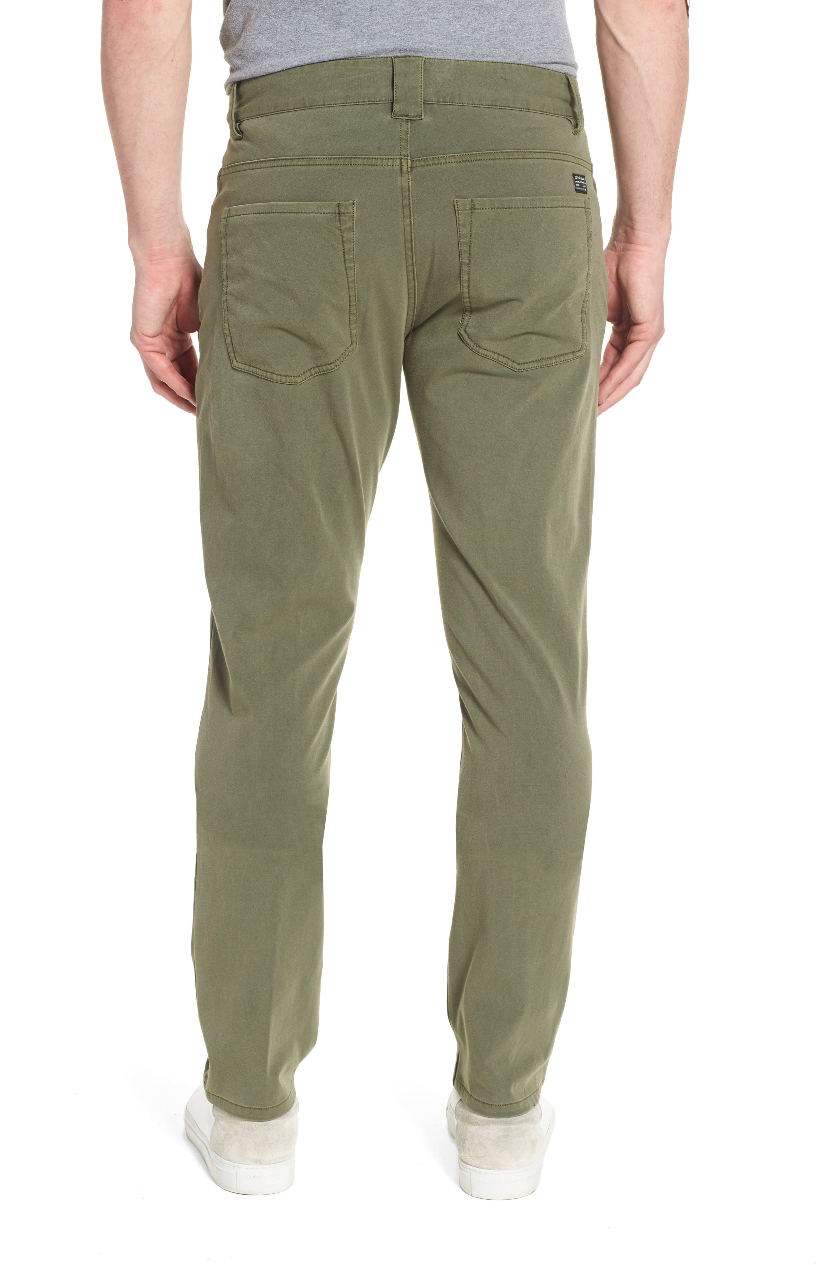 Venture Slim Fit Hybrid Pants,                             Alternate thumbnail 2, color,                             Army