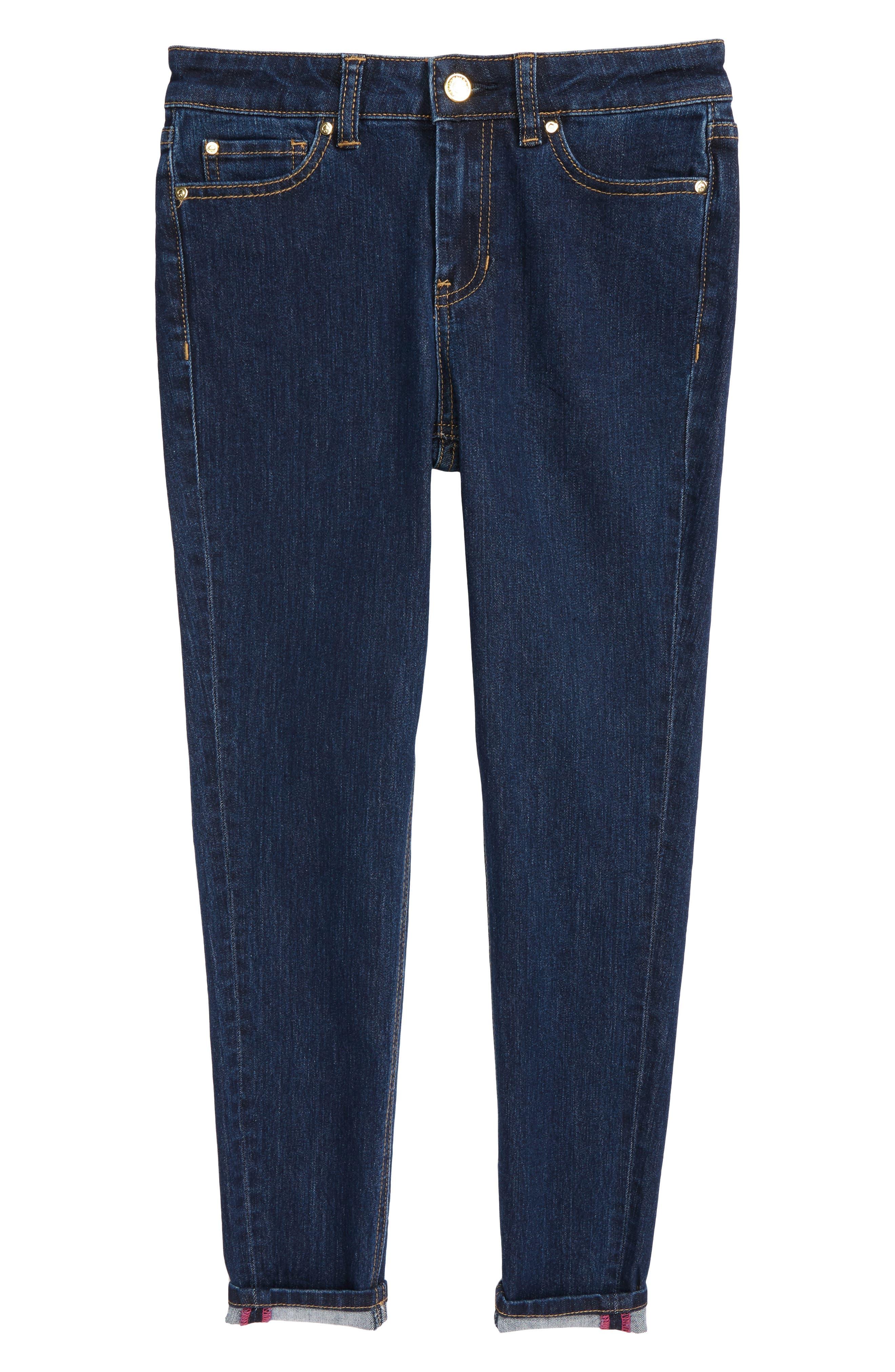 skinny jeans,                             Main thumbnail 1, color,                             Denim Indigo