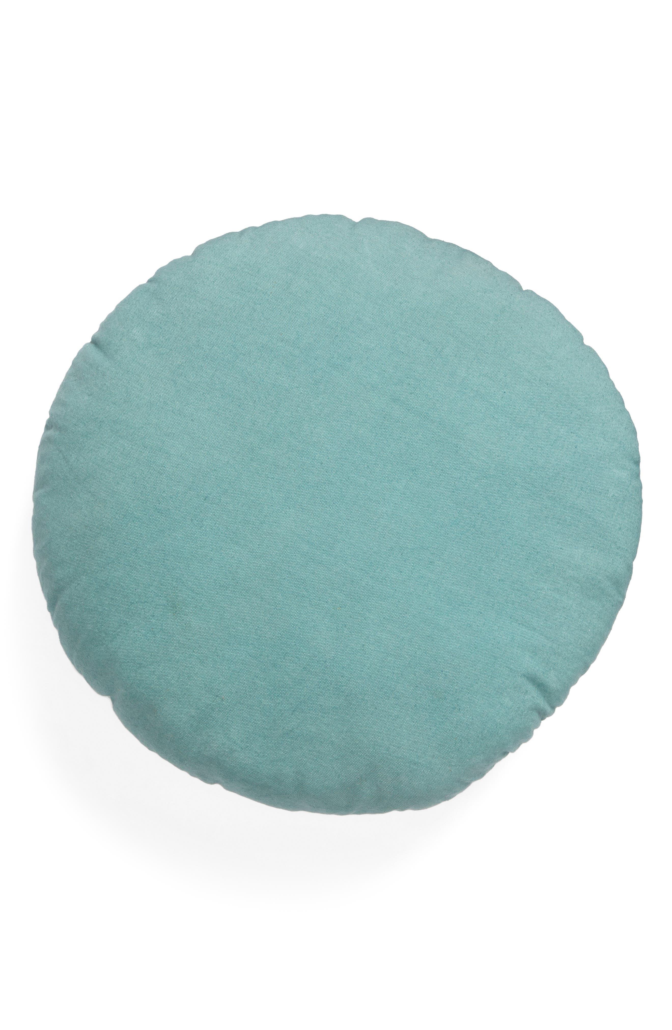Eva Accent Pillow,                             Alternate thumbnail 2, color,                             Teal Aquifer