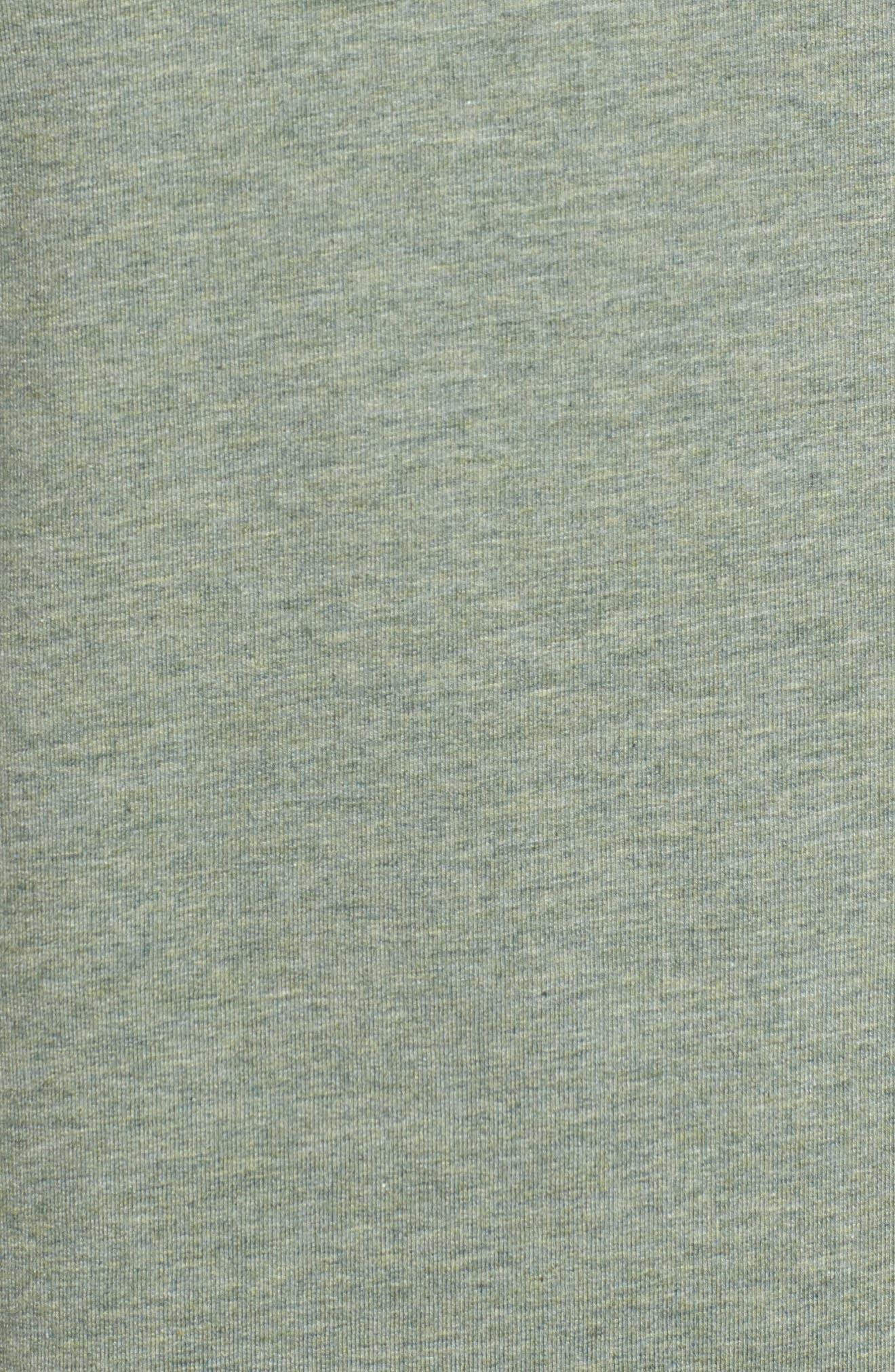 Legacy Crewneck Sweatshirt,                             Alternate thumbnail 5, color,                             Kelp Heather