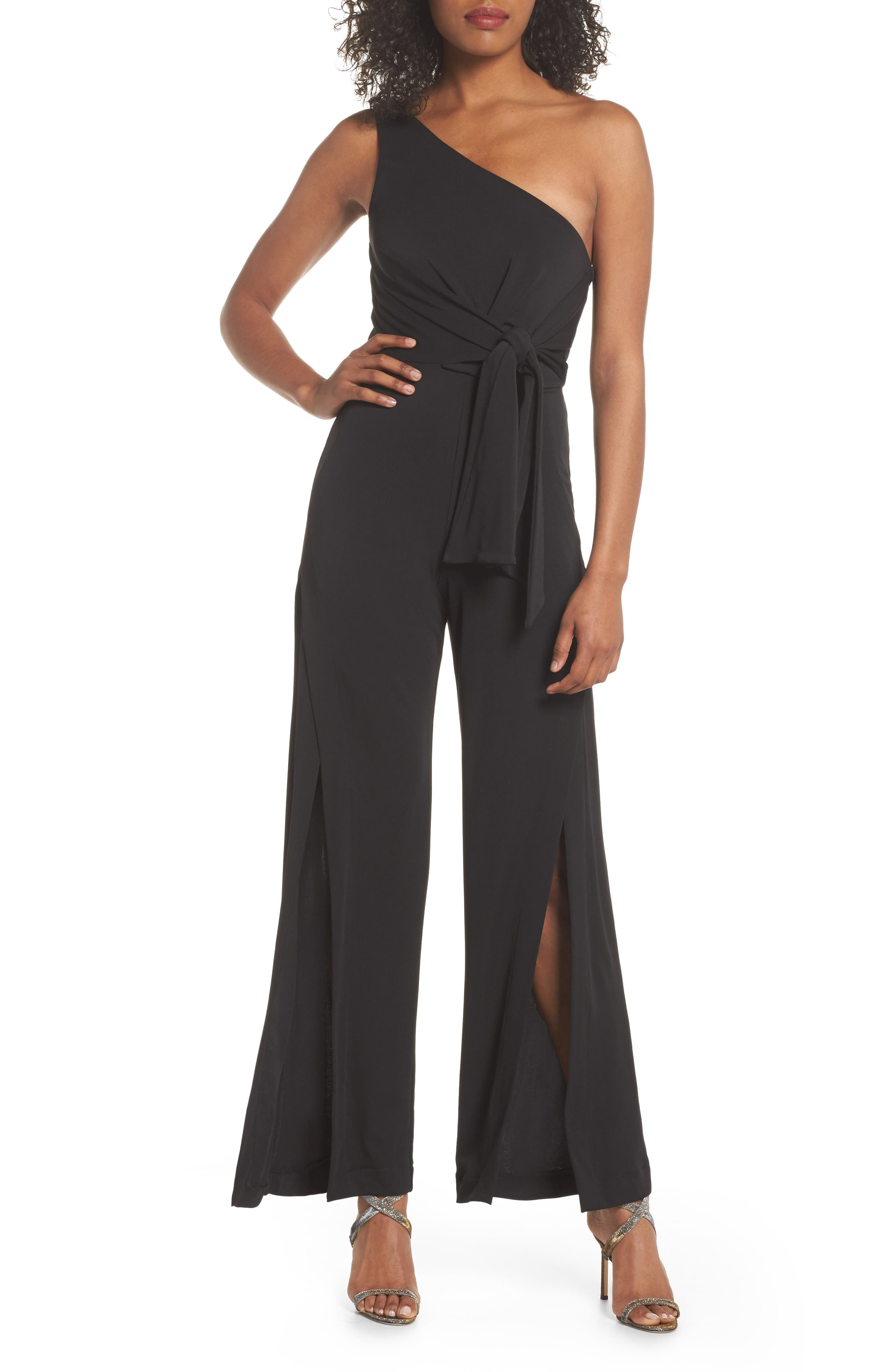 C/MEO Collective Recollect One-Shoulder Jumpsuit