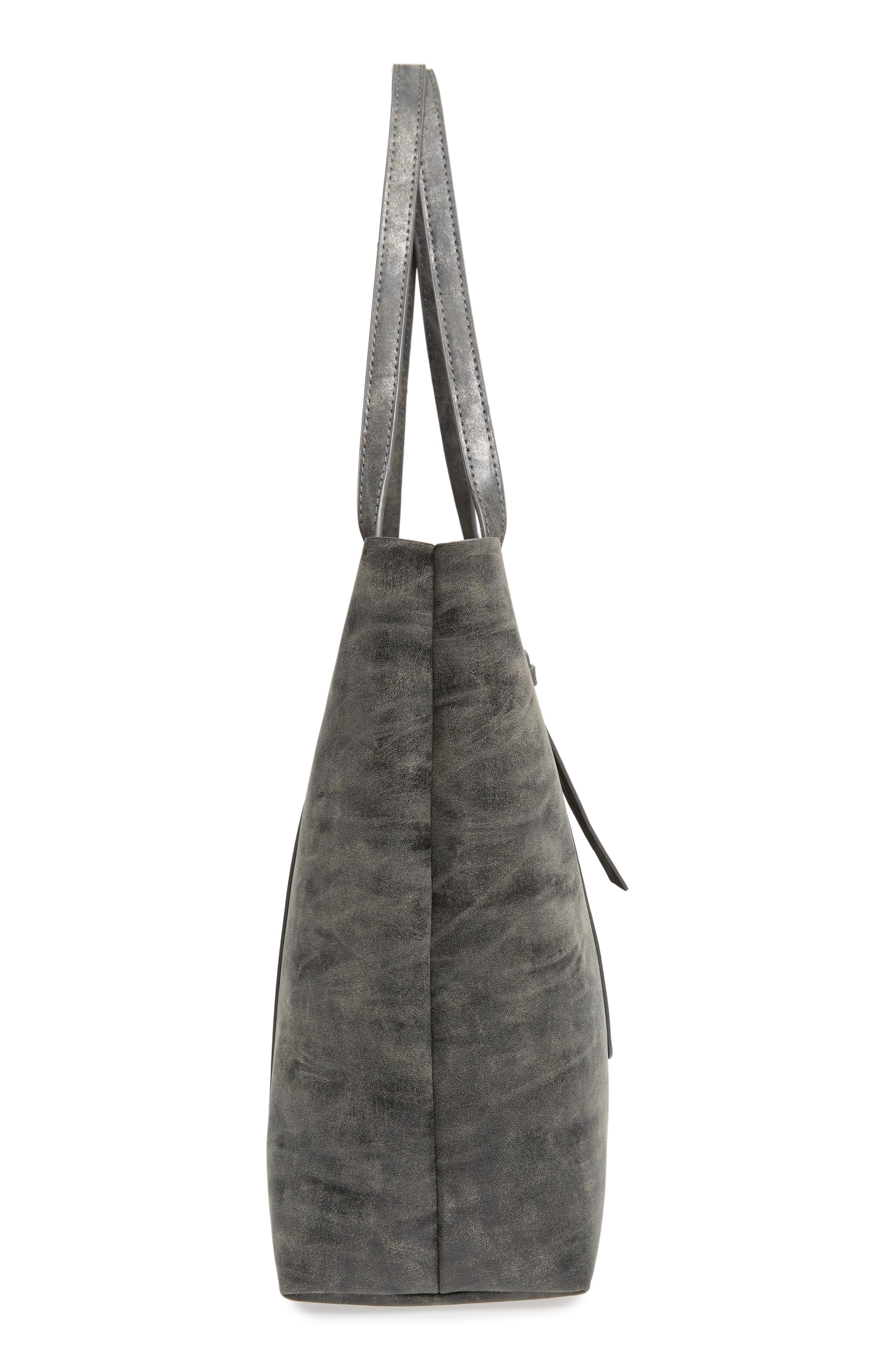 Tote,                             Alternate thumbnail 5, color,                             Grey