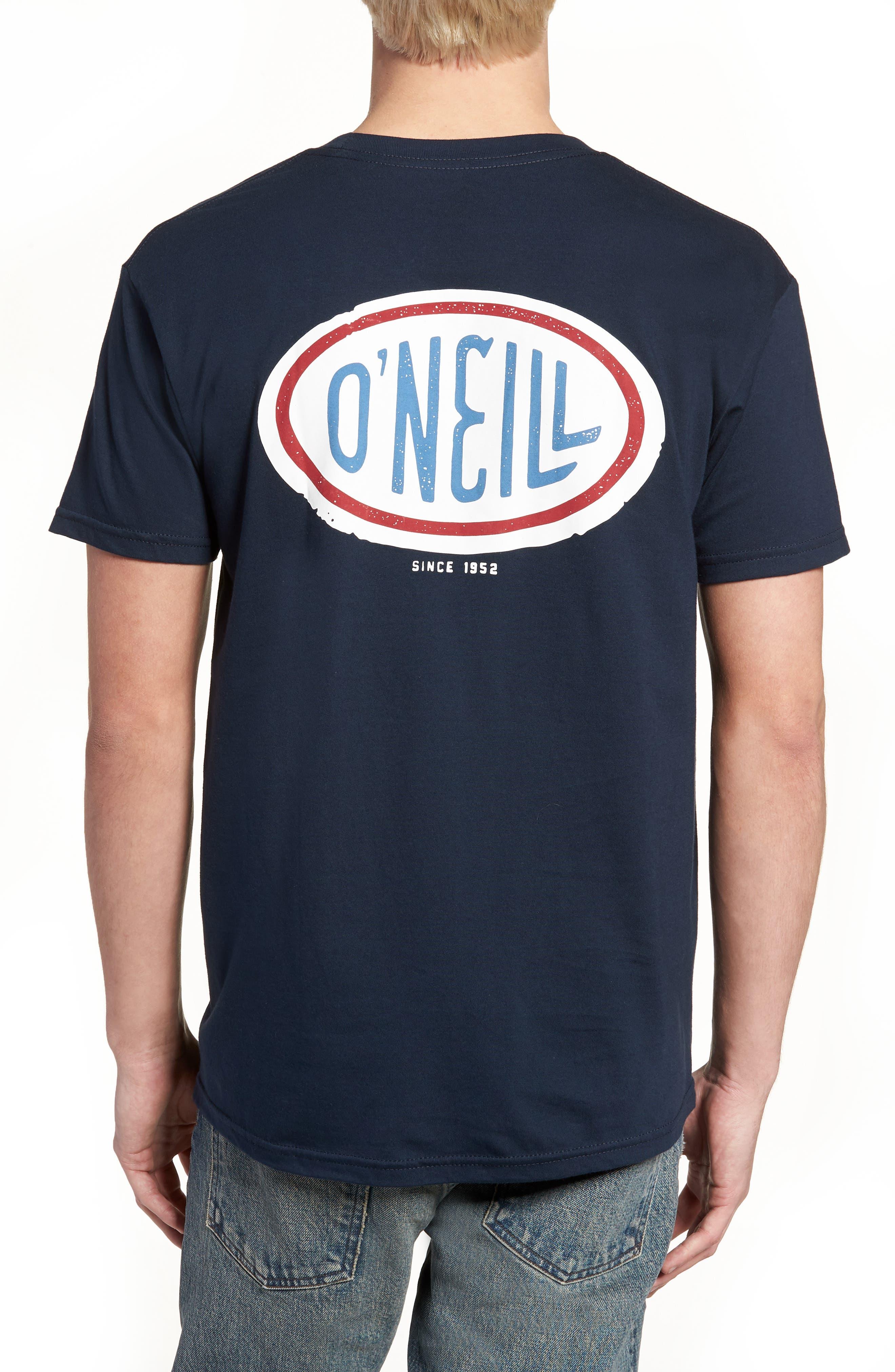 Alternate Image 2  - O'Neill Gasser Graphic T-Shirt