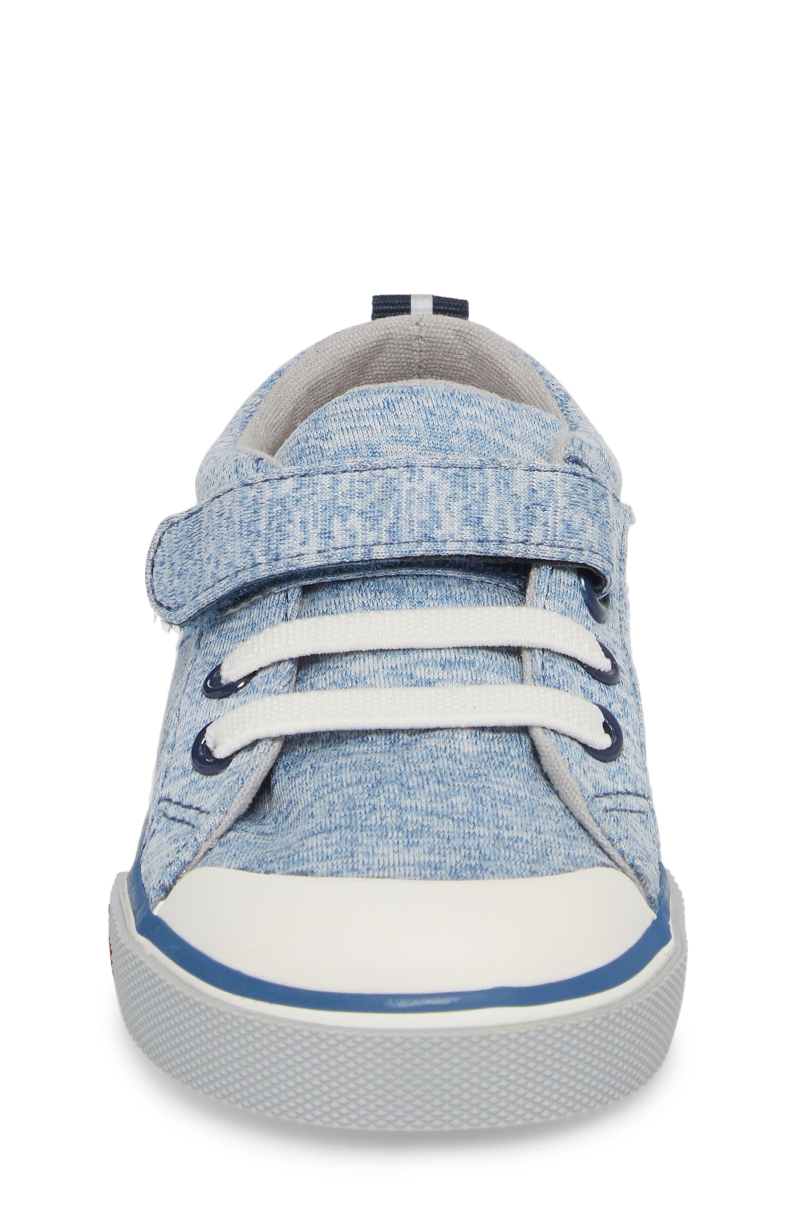 Tanner Sneaker,                             Alternate thumbnail 4, color,                             Blue Jersey