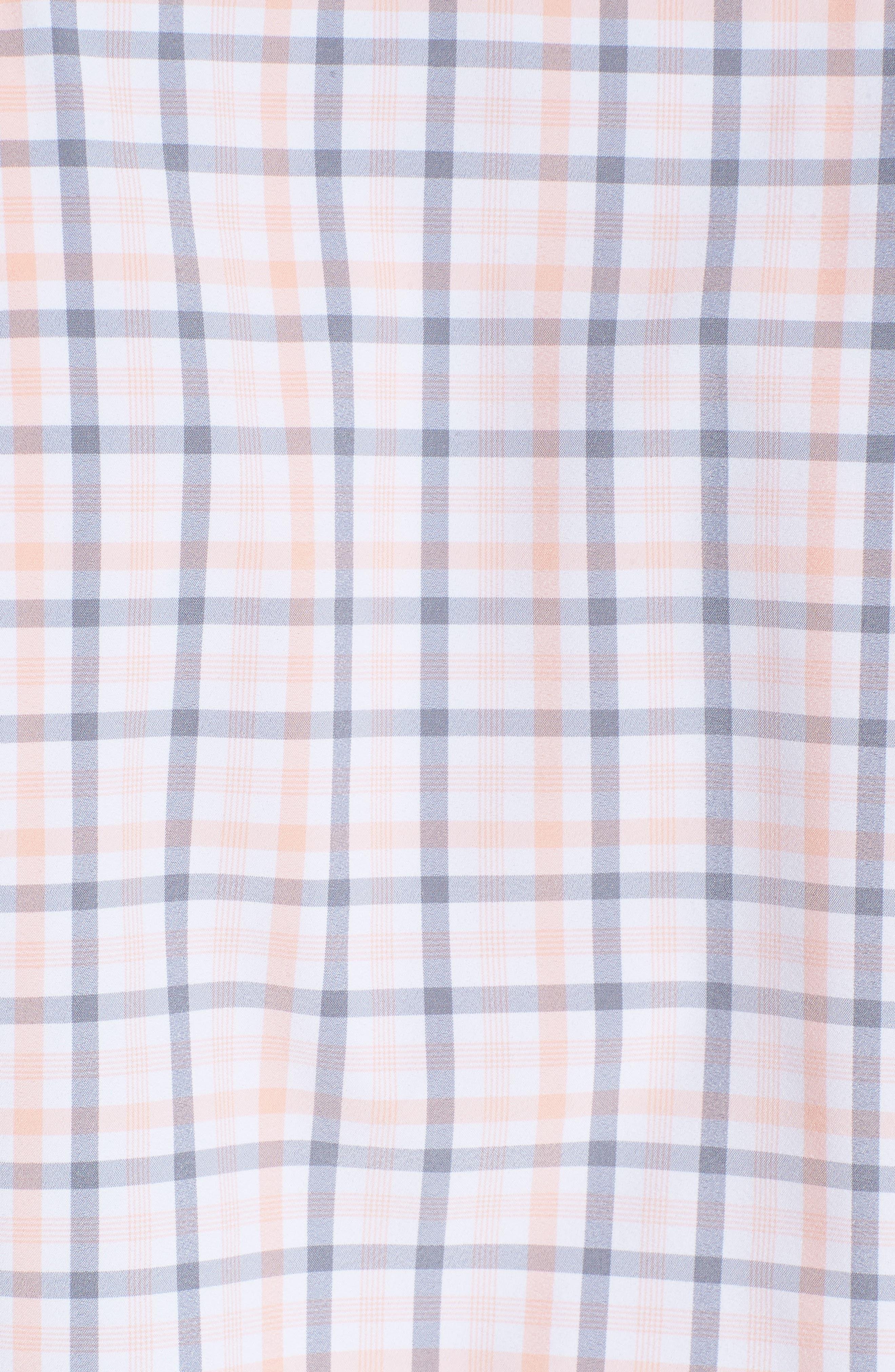 Kimble Check Sport Shirt,                             Alternate thumbnail 5, color,                             Pink