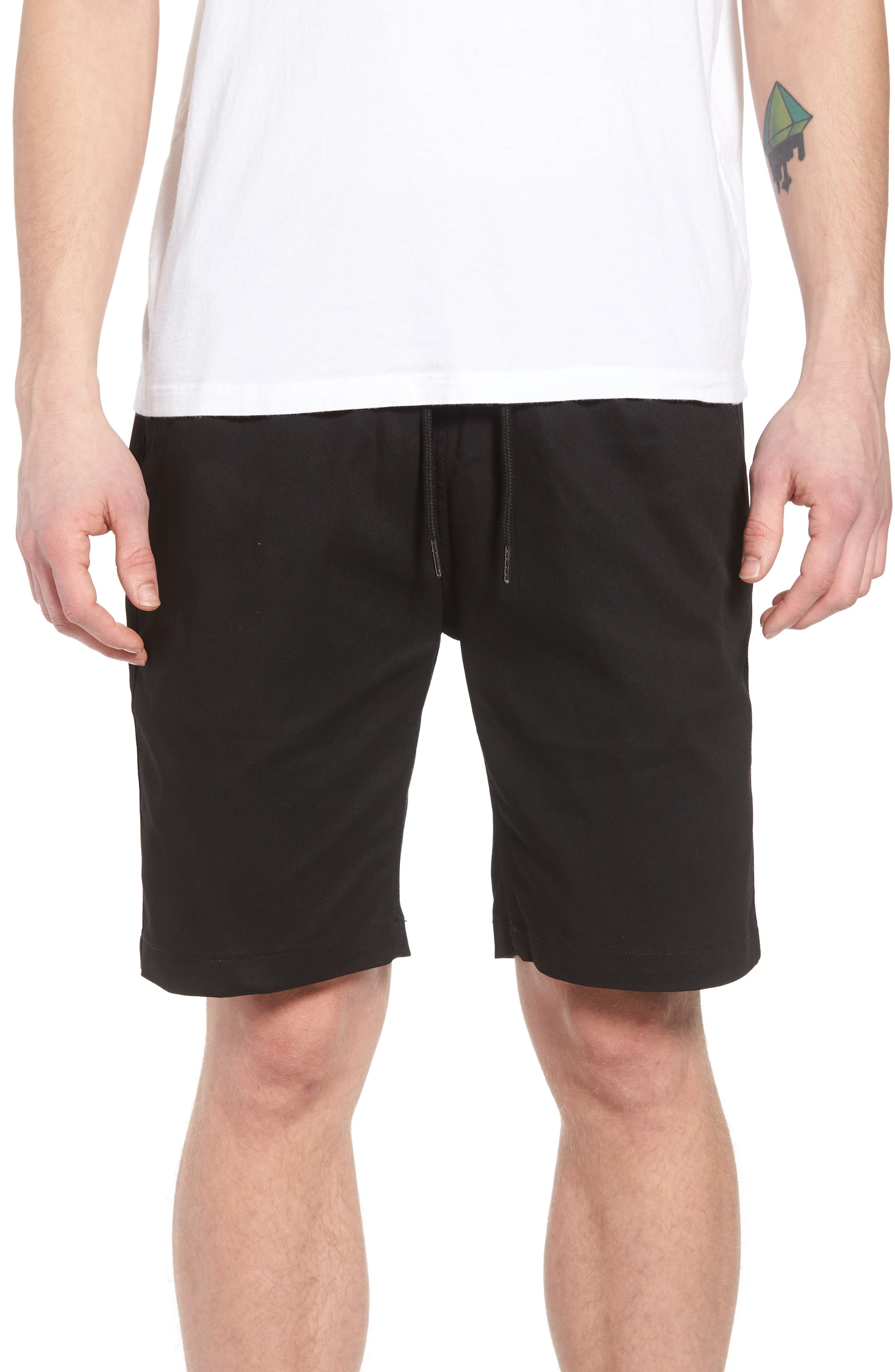 Runner Shorts,                             Main thumbnail 1, color,                             Black