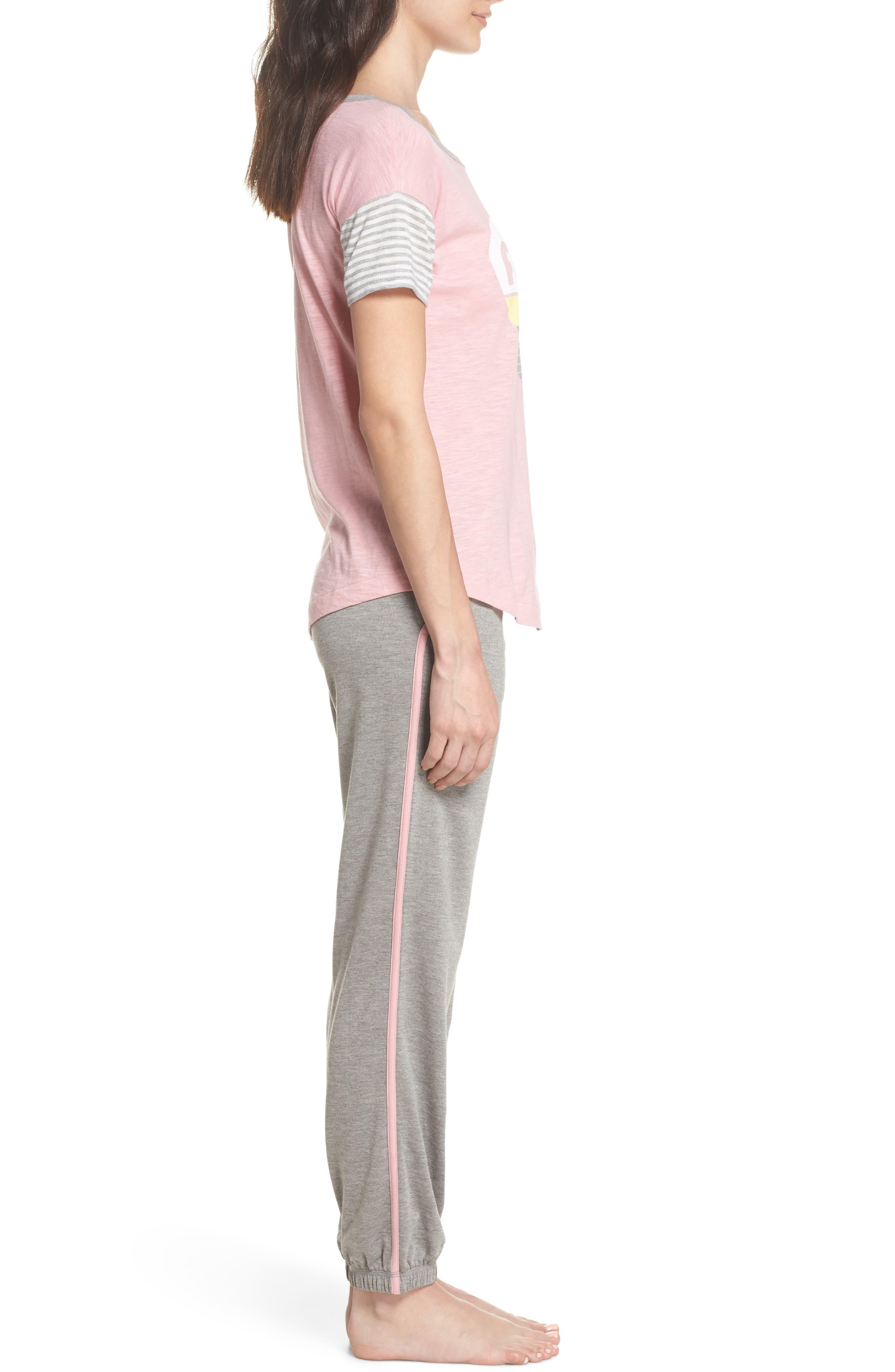 Pajamas Set,                             Alternate thumbnail 3, color,                             H Grey