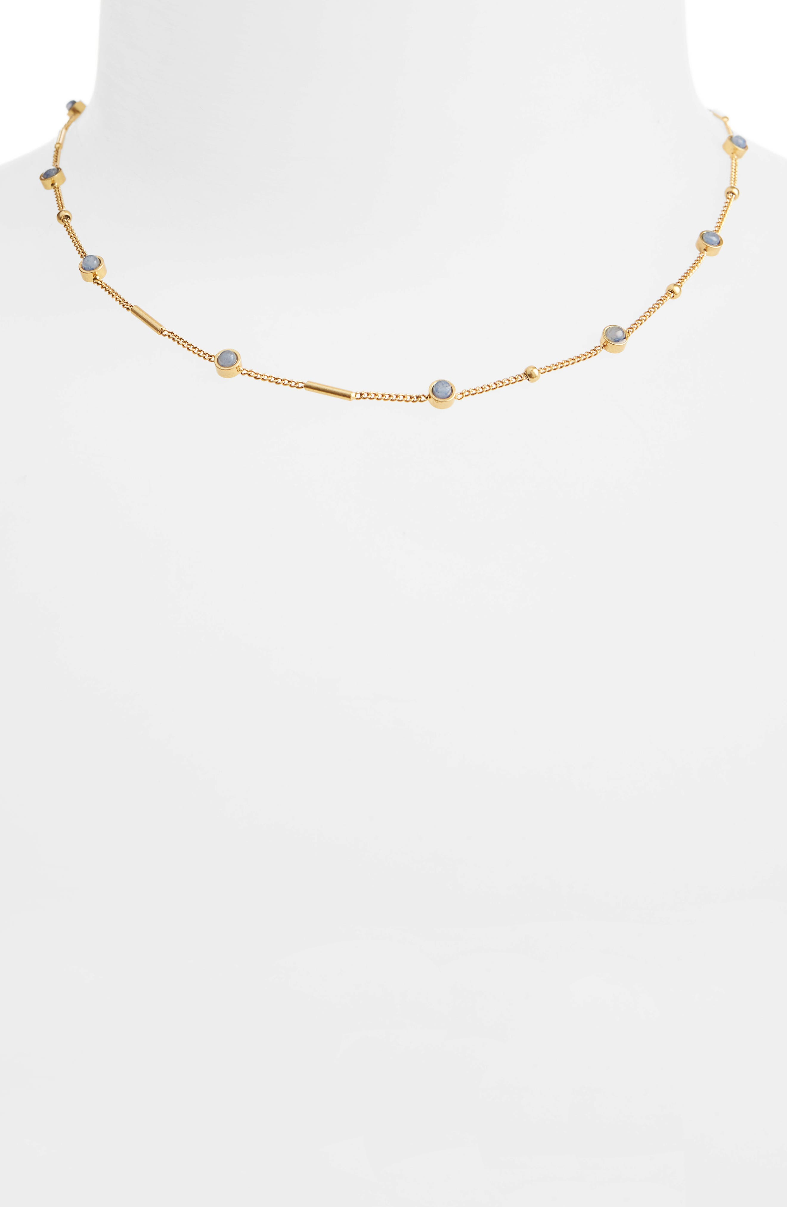 Main Image - Madewell Delicate Stone Necklace