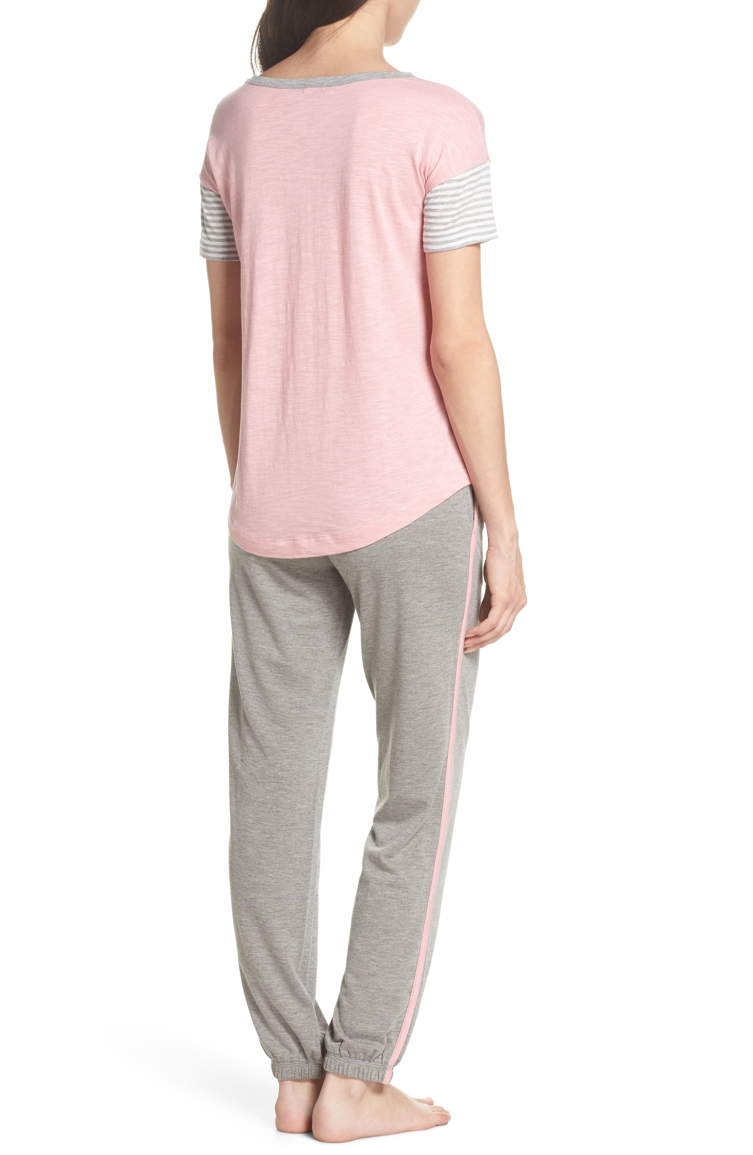 Pajamas Set,                             Alternate thumbnail 2, color,                             H Grey