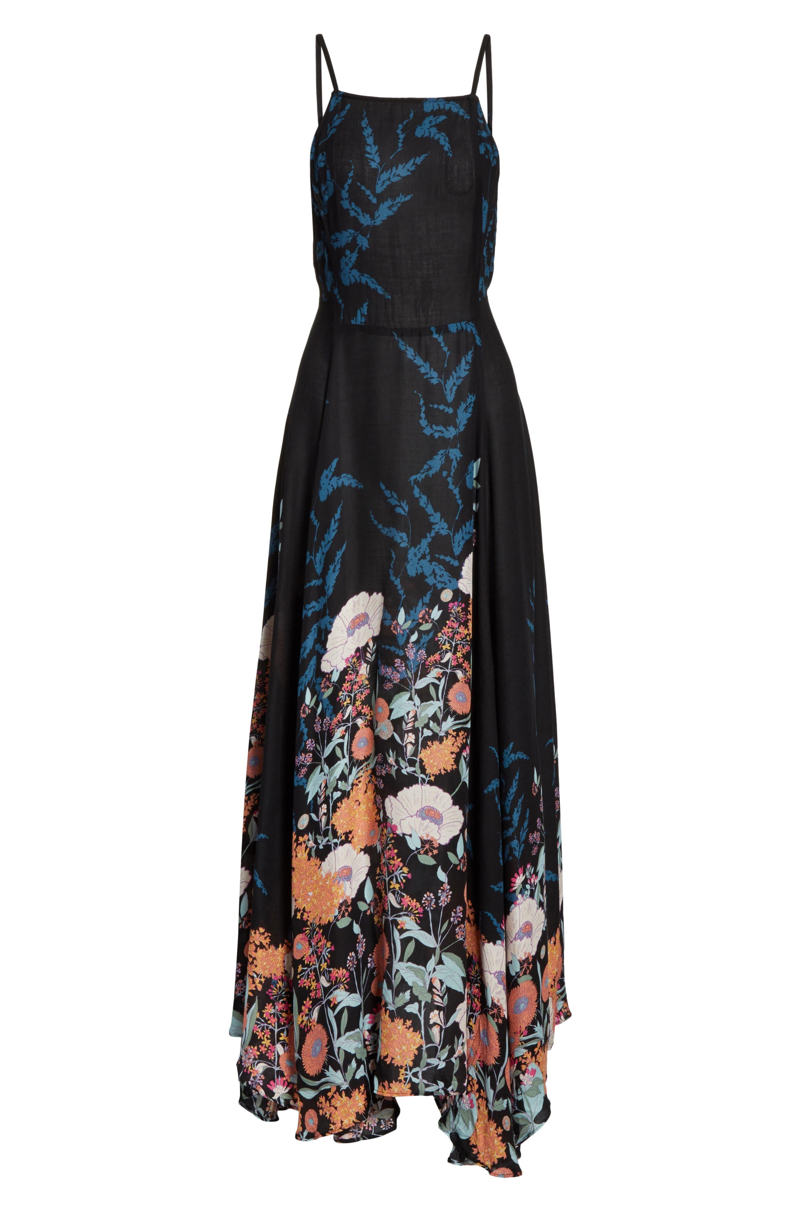Embrace It Maxi Dress,                             Alternate thumbnail 7, color,                             Black Combo
