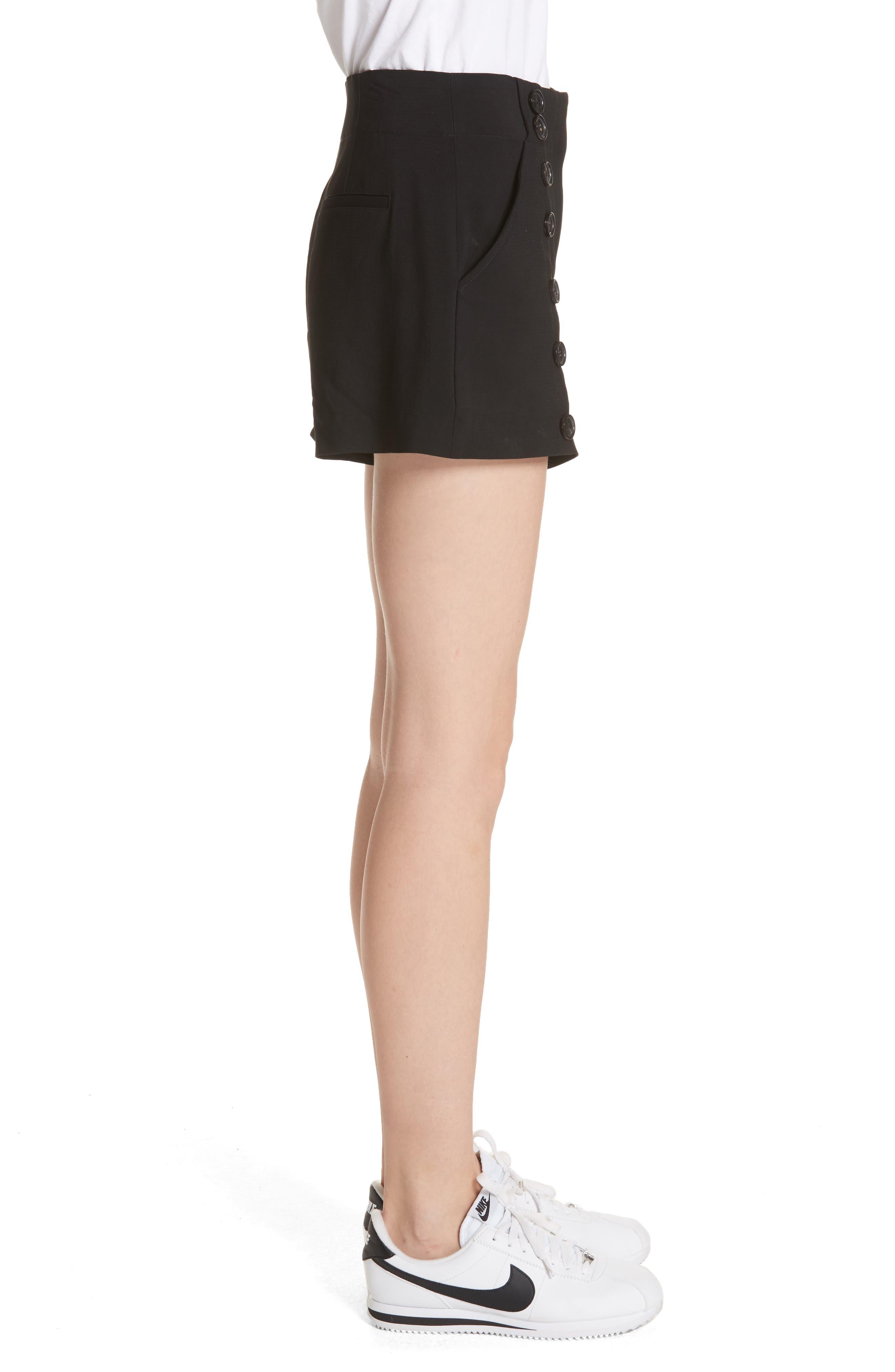 Issac Shorts,                             Alternate thumbnail 3, color,                             Black