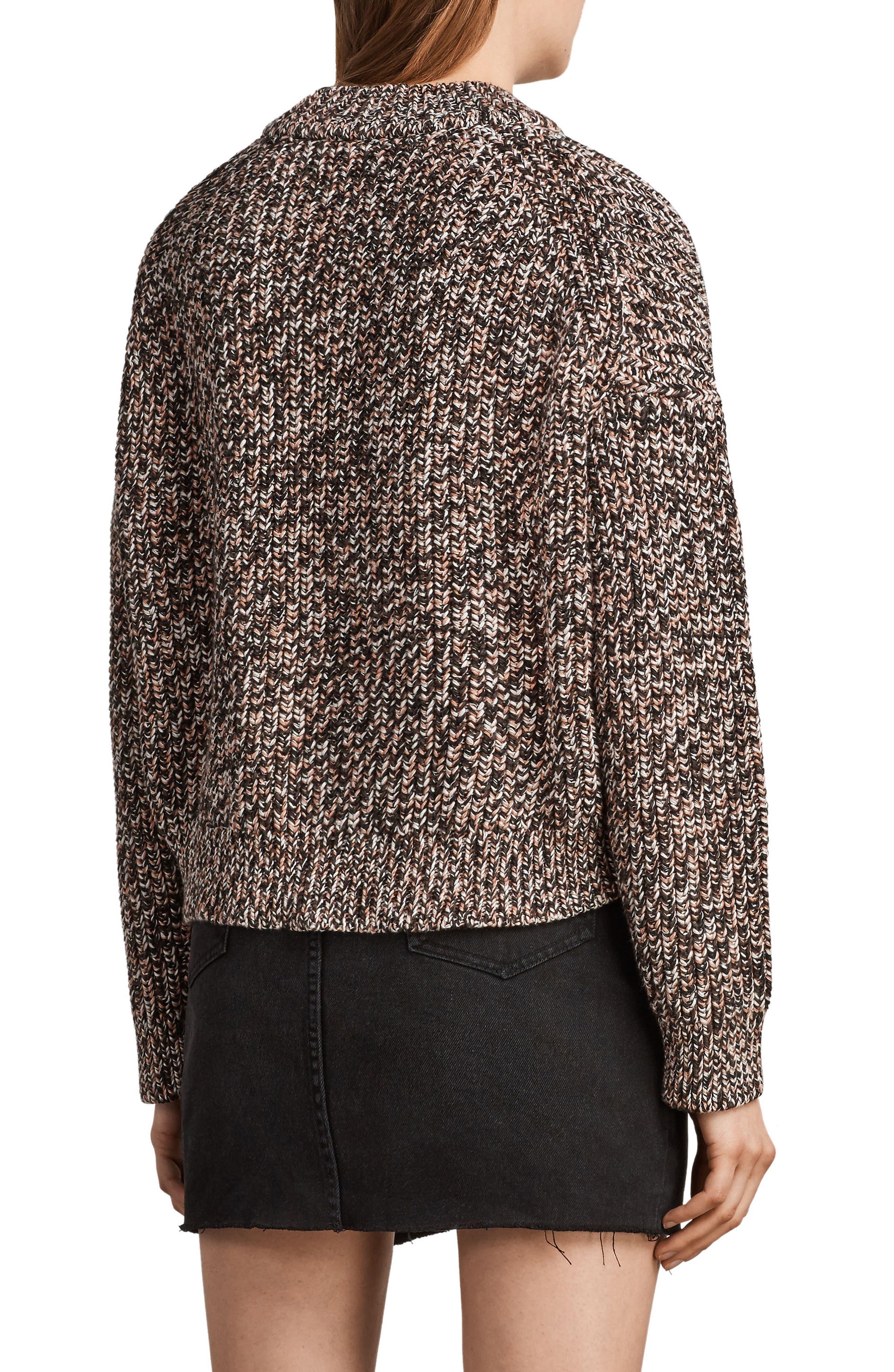 Malu Knit Sweater,                             Alternate thumbnail 2, color,                             Pink Mix