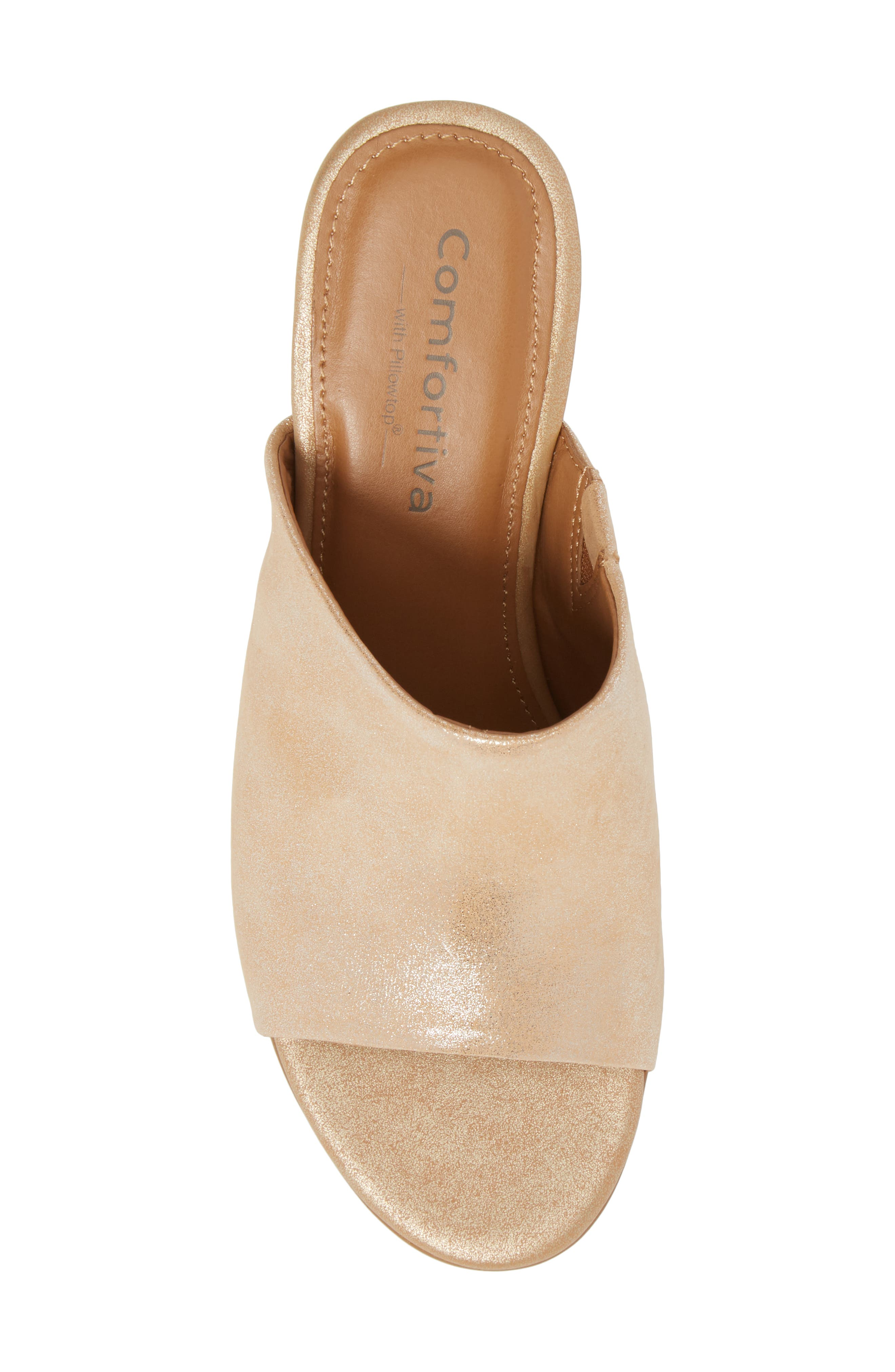 Anabella Sandal,                             Alternate thumbnail 5, color,                             Natural Leather