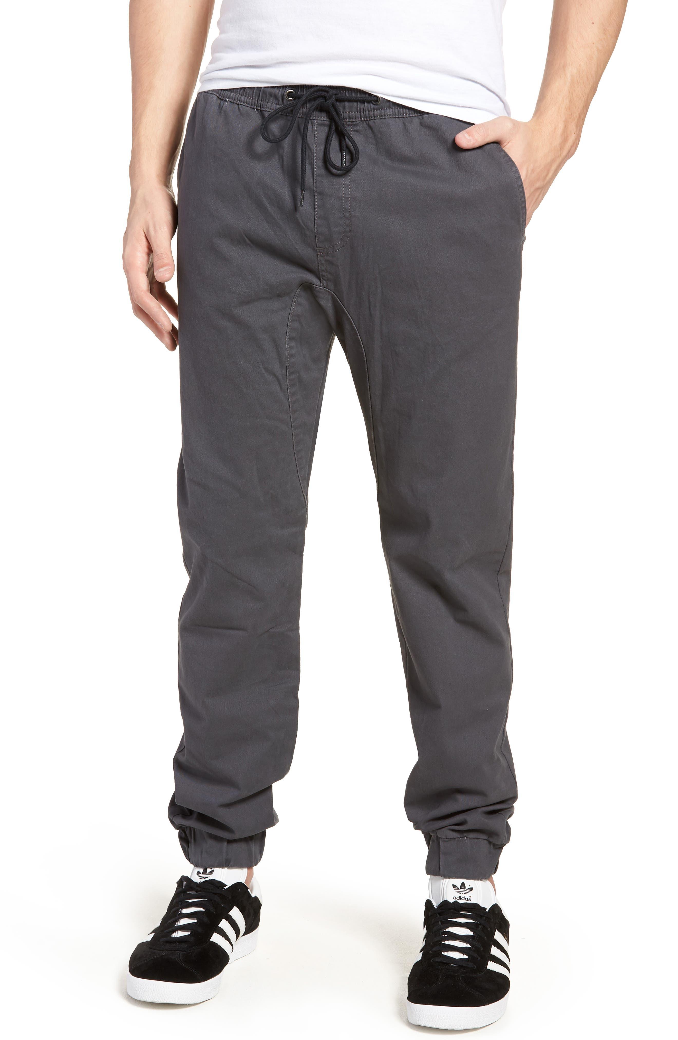 Jogger Pants,                             Main thumbnail 1, color,                             Grey Onyx