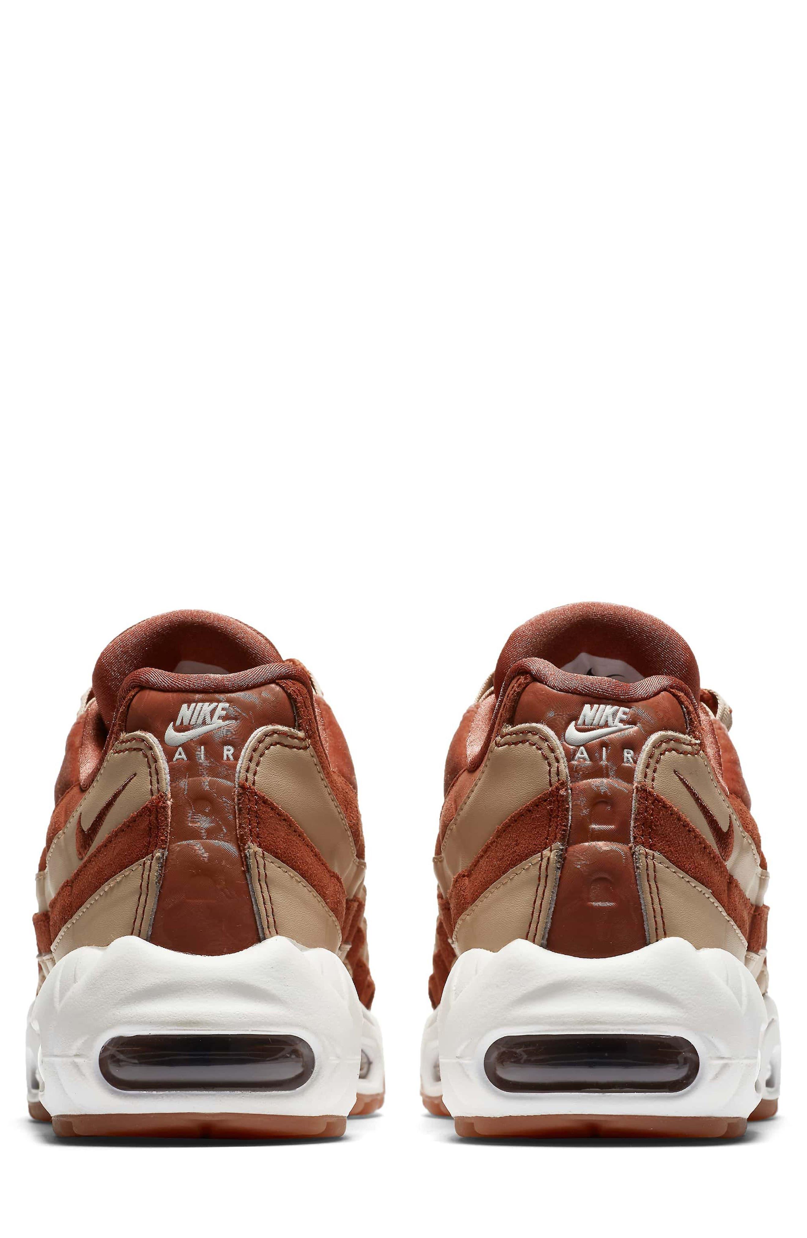 Air Max 95 LX Shoe,                             Alternate thumbnail 2, color,                             Dusty Peach/ Dusty Peach