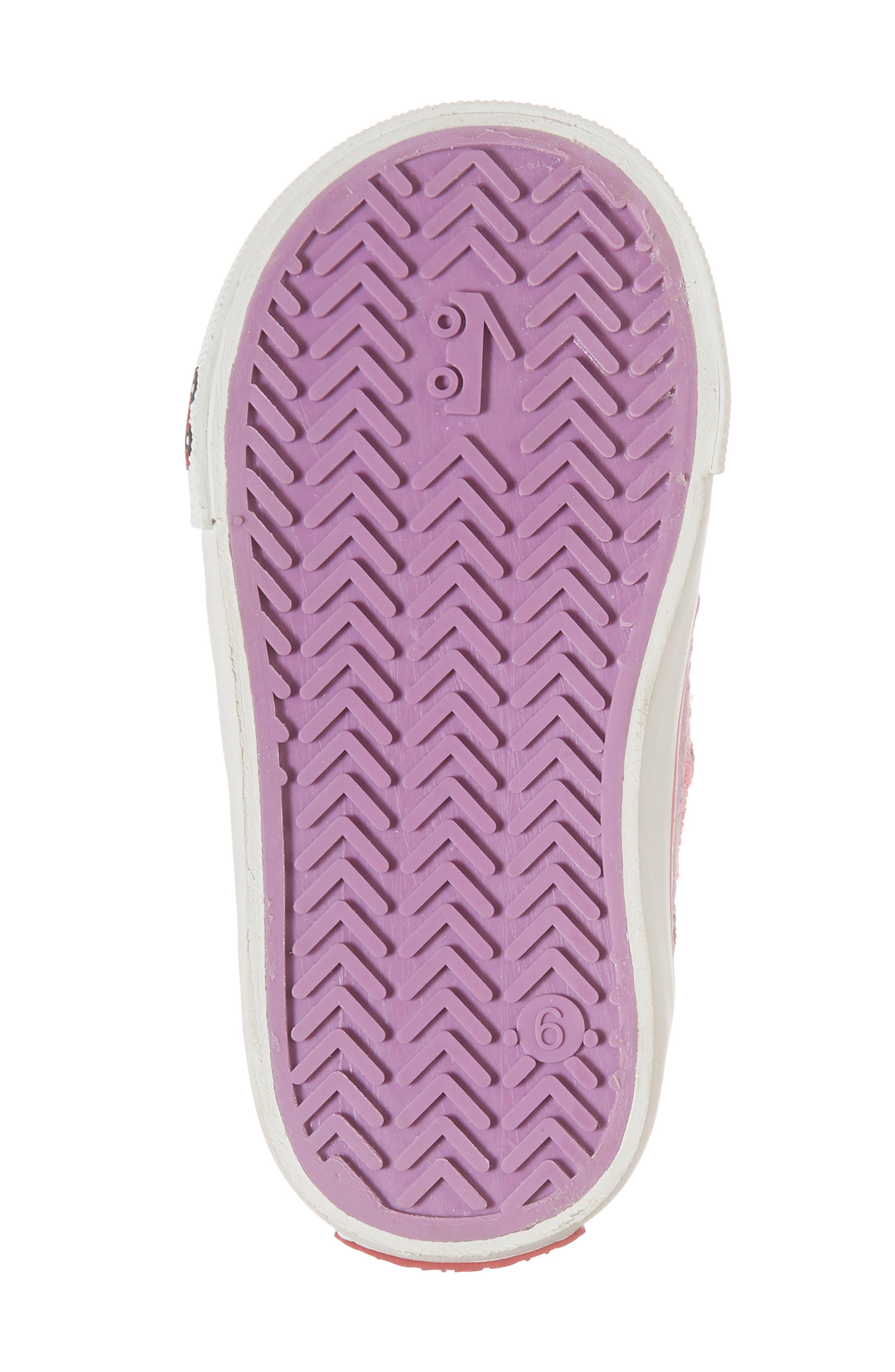 Saylor Sneaker,                             Alternate thumbnail 6, color,                             Hot Pink