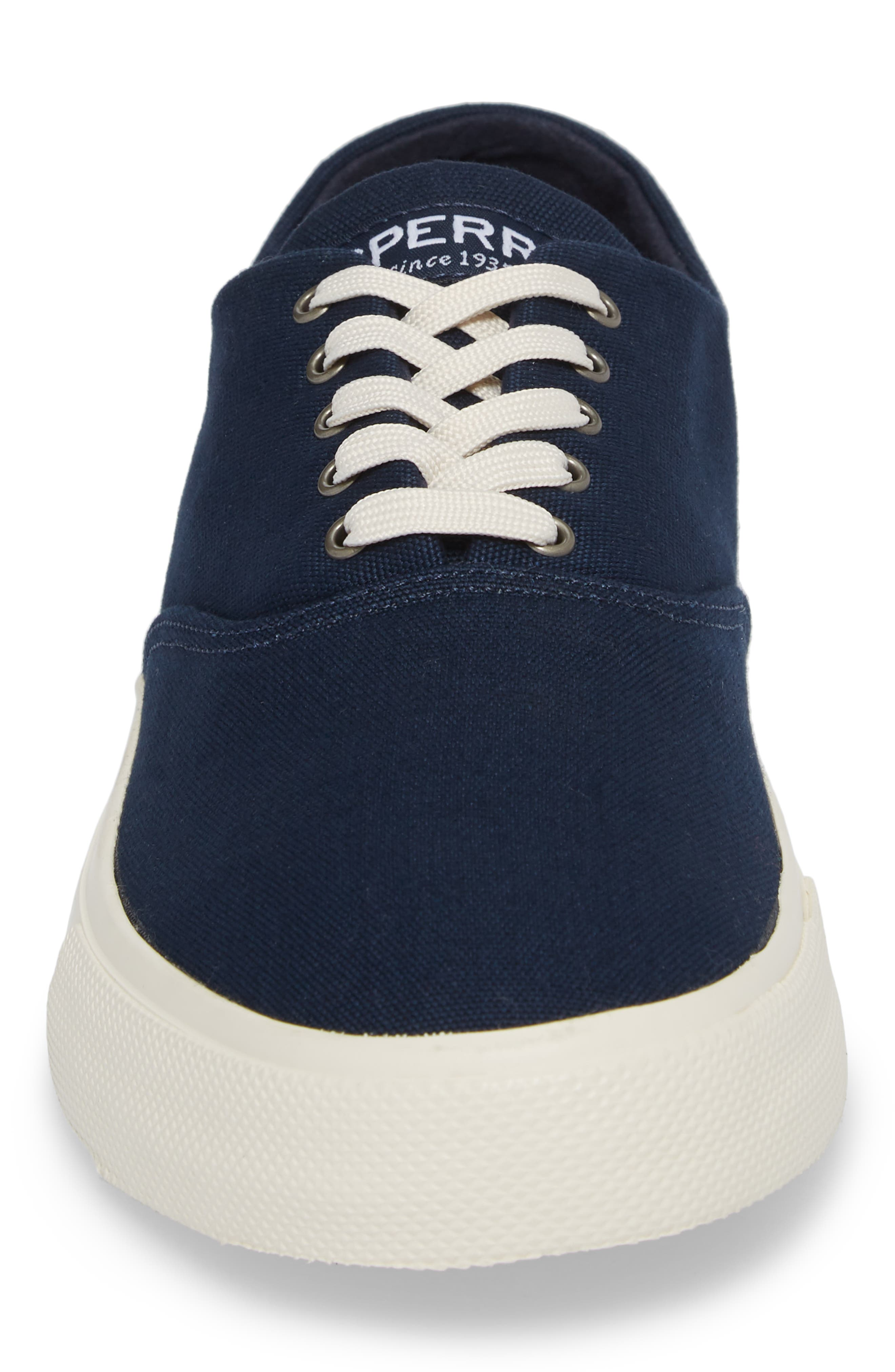 Captain's CVO Sneaker,                             Alternate thumbnail 4, color,                             Navy Fabric