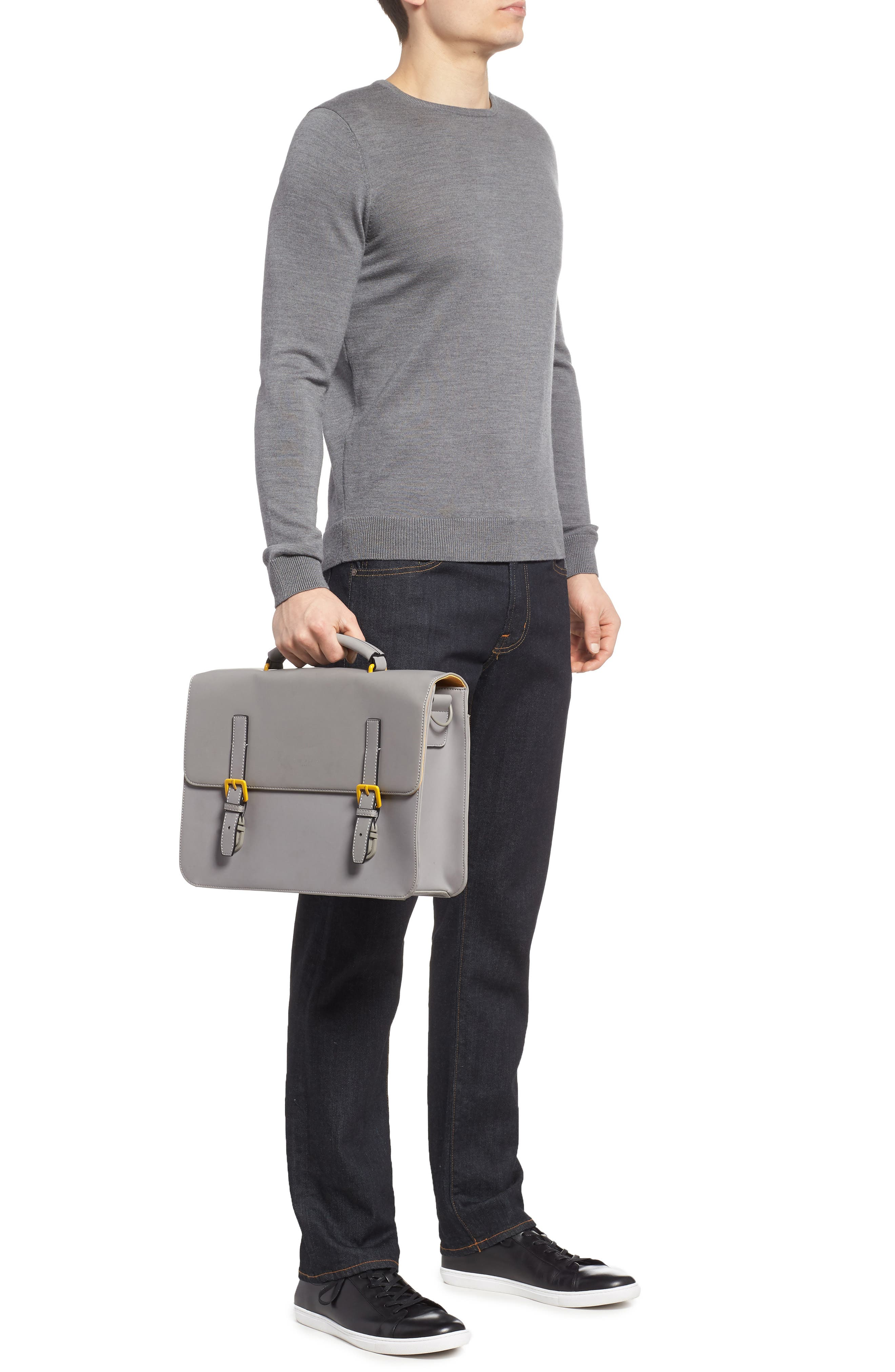 Alternate Image 2  - Ted Baker London Barma Rubberized Briefcase