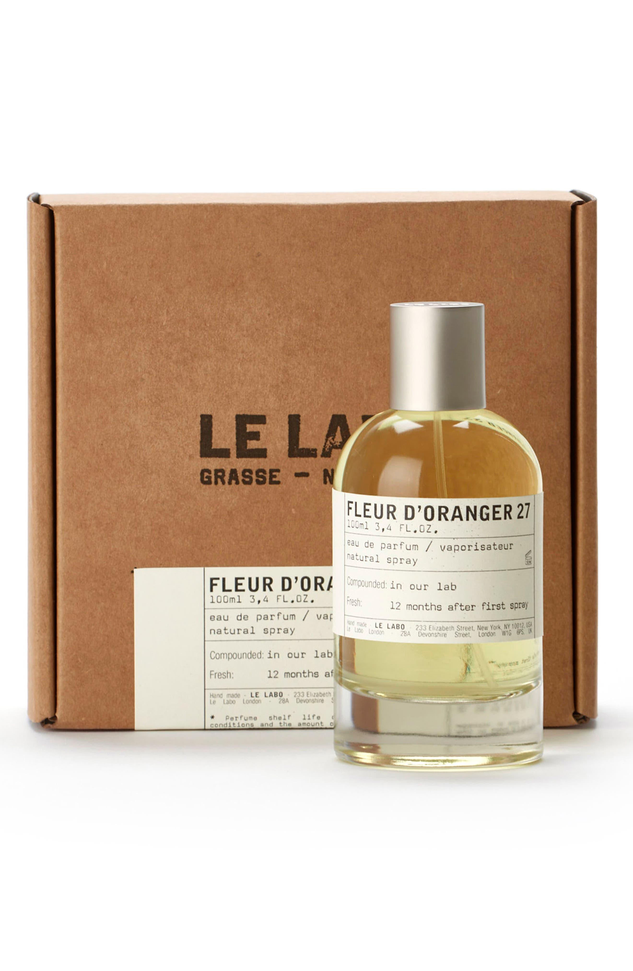 'Fleur d'Oranger 27' Eau de Parfum,                             Alternate thumbnail 4, color,                             No Color