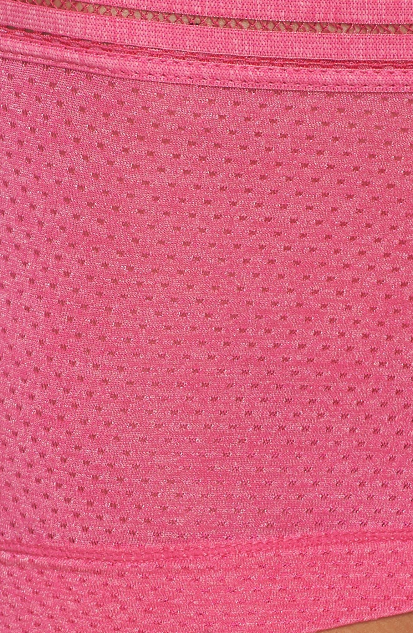Boyshorts,                             Alternate thumbnail 6, color,                             Pink Peacock
