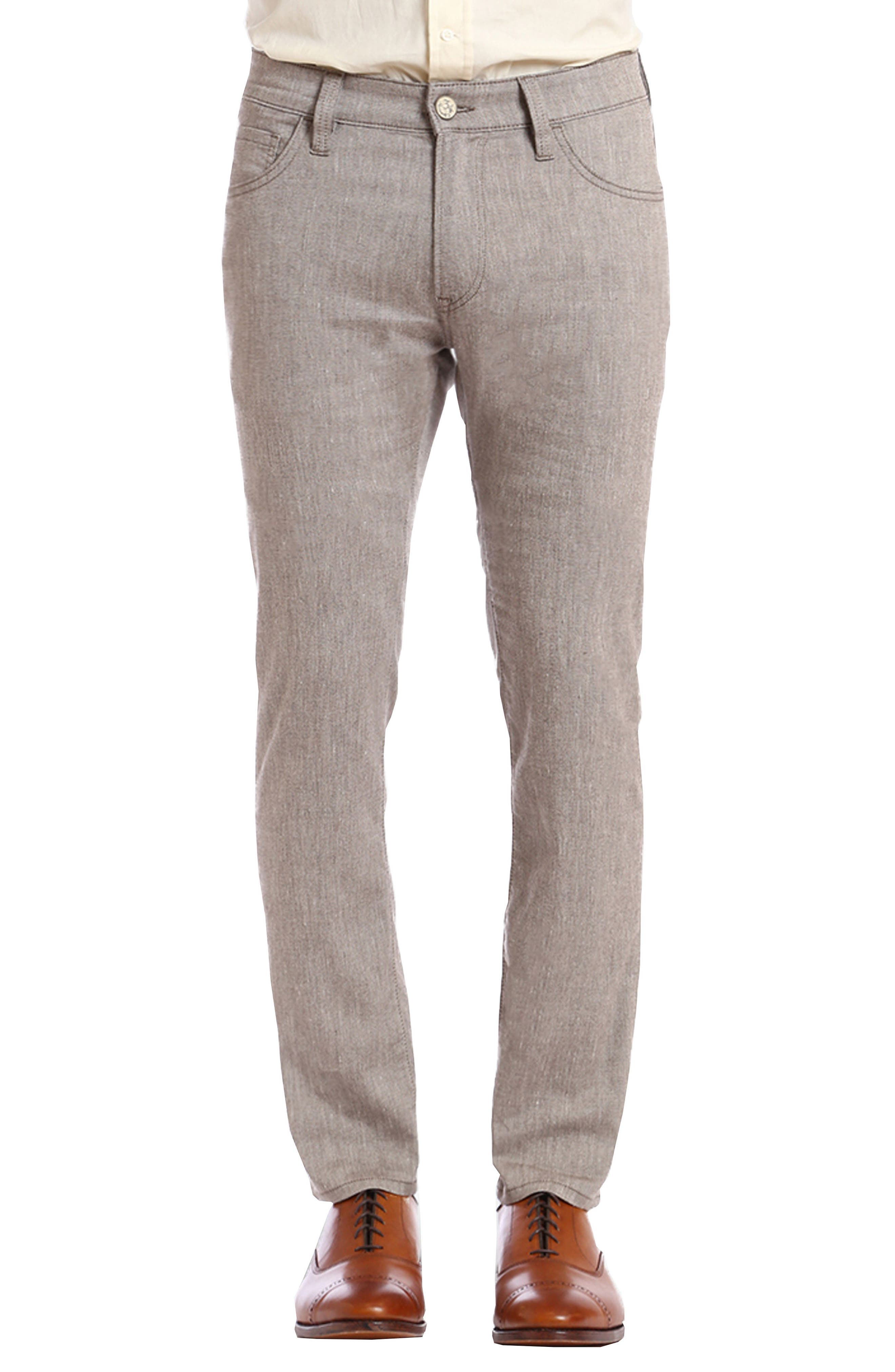 Courage Straight Leg Pants,                         Main,                         color, Latte Textured