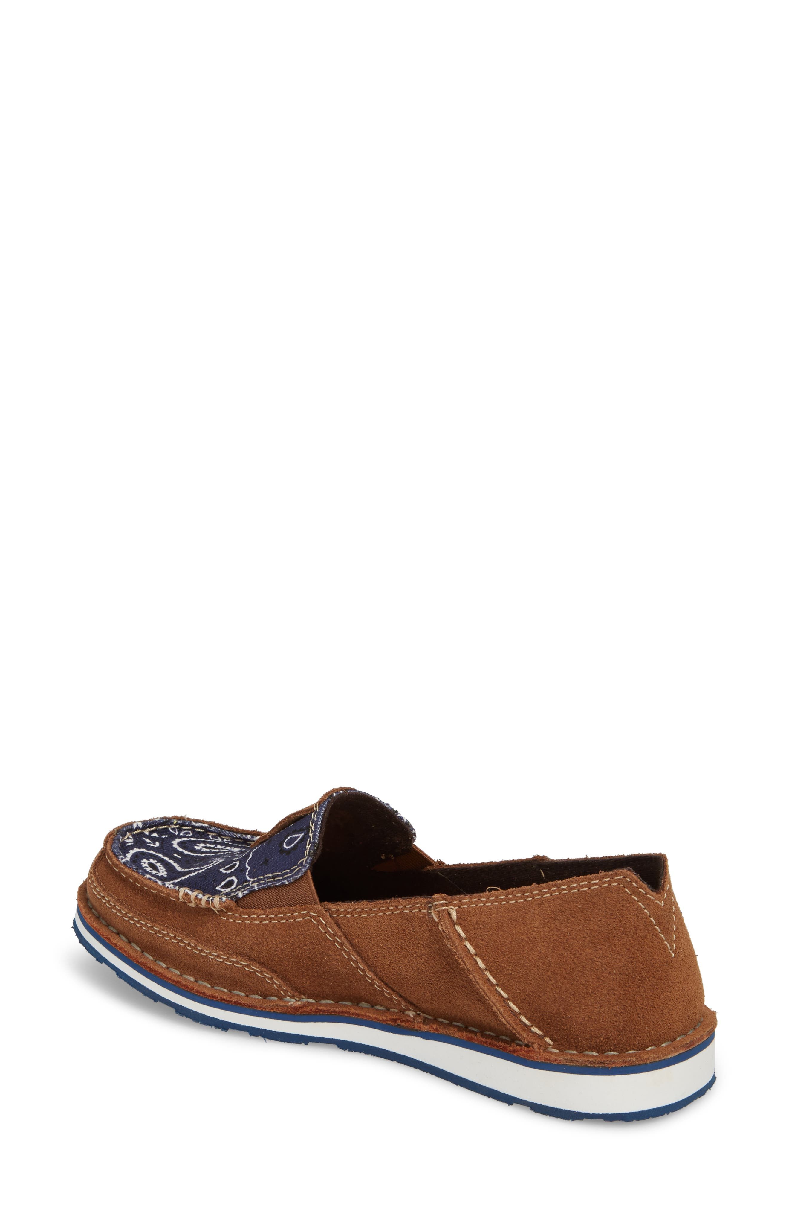 Cruiser Slip-On Loafer,                             Alternate thumbnail 2, color,                             Toffee Leather