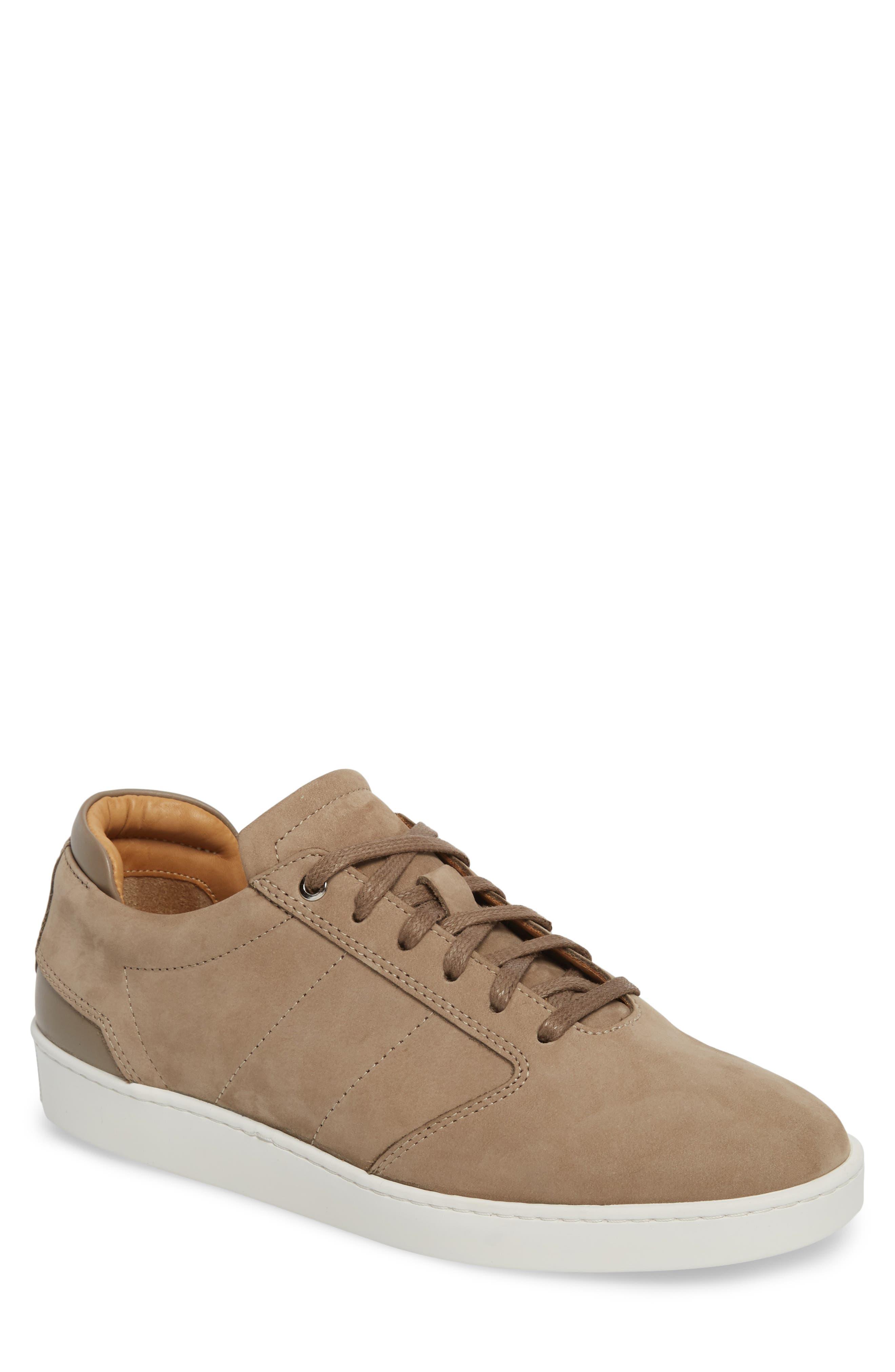 Lennon Sneaker,                         Main,                         color, Woodsmoke/ Mushroom