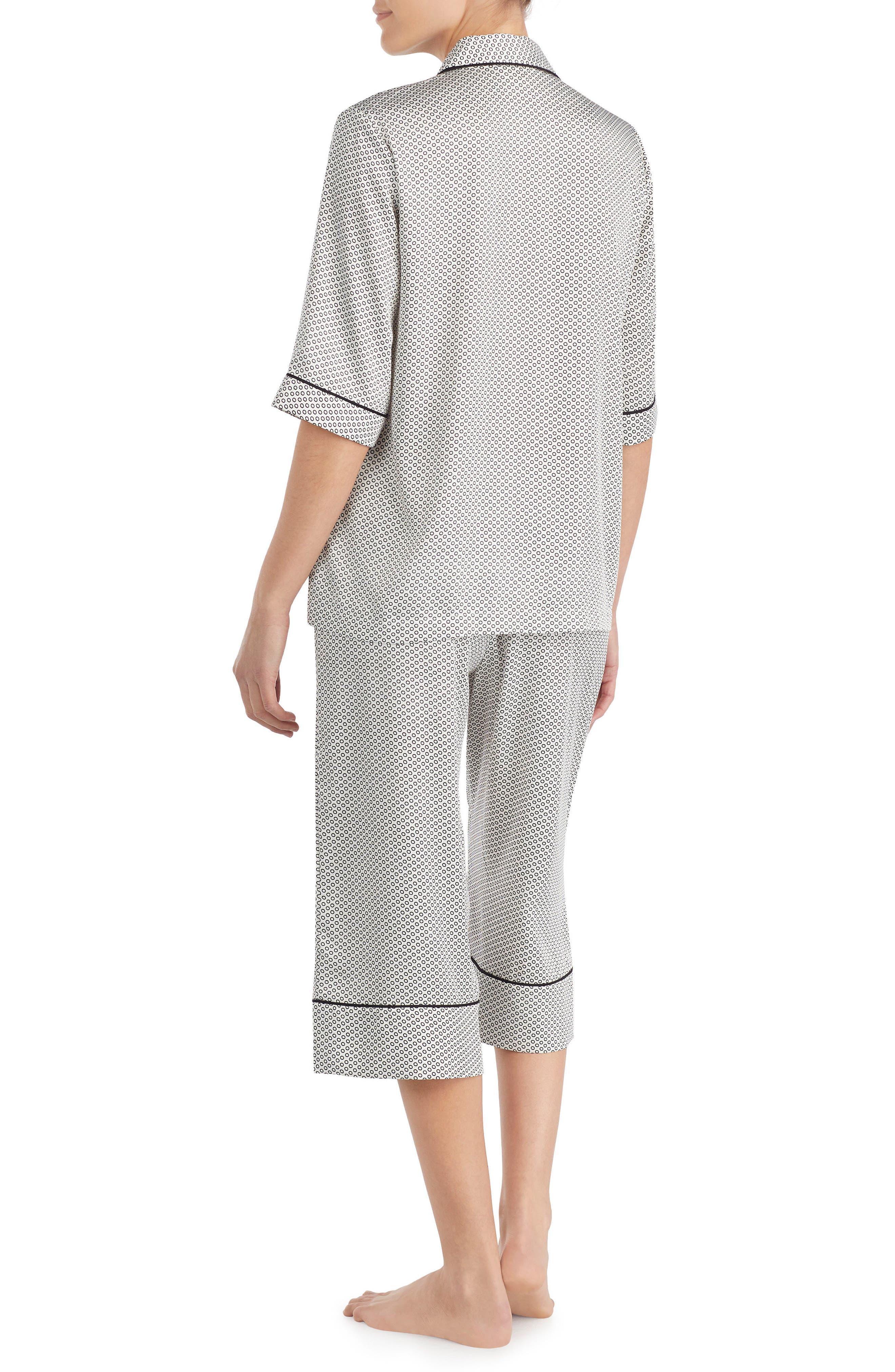 capri pajamas,                             Alternate thumbnail 2, color,                             Circles