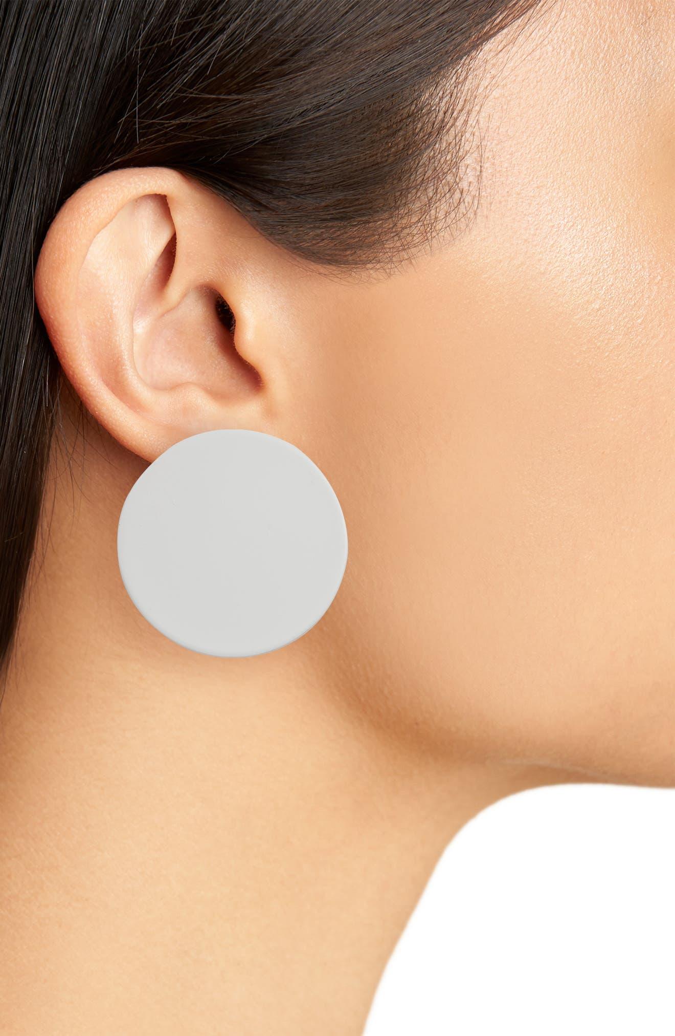 Alternate Image 2  - Jenny Bird Ariel Disc Earrings