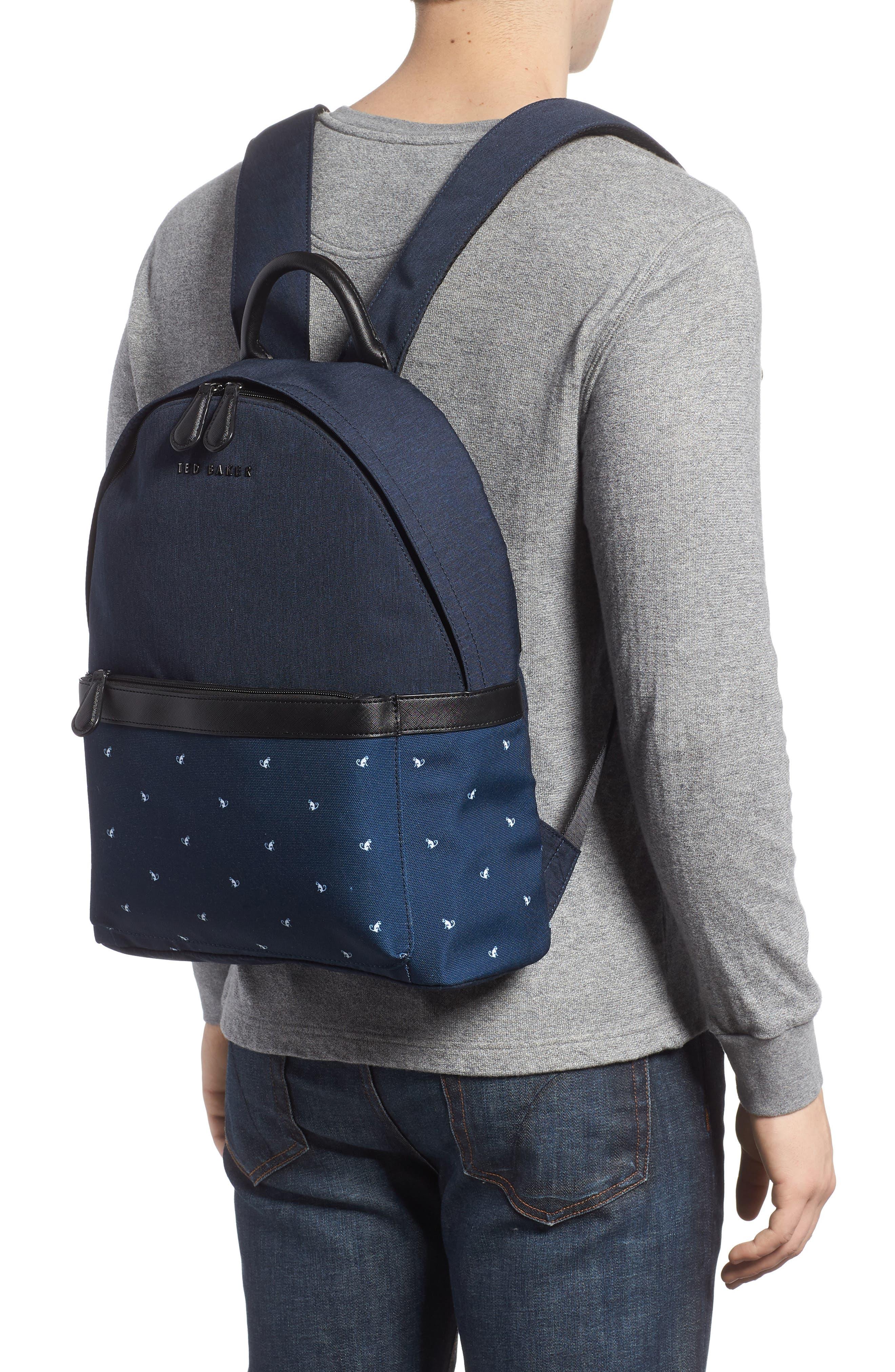 Mangoo Backpack,                             Alternate thumbnail 2, color,                             Navy