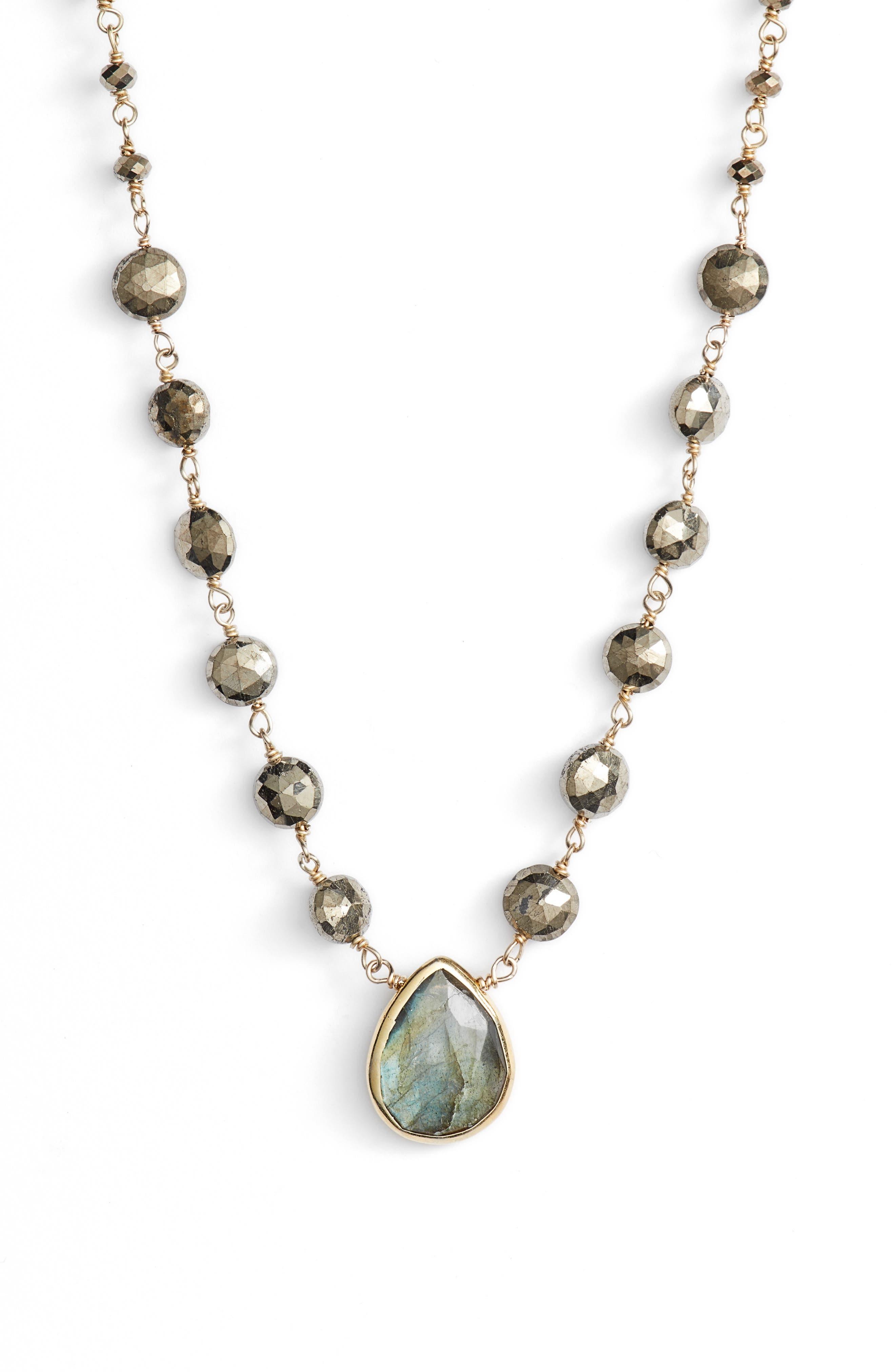 Alternate Image 2  - ela rae Ara Collar Necklace