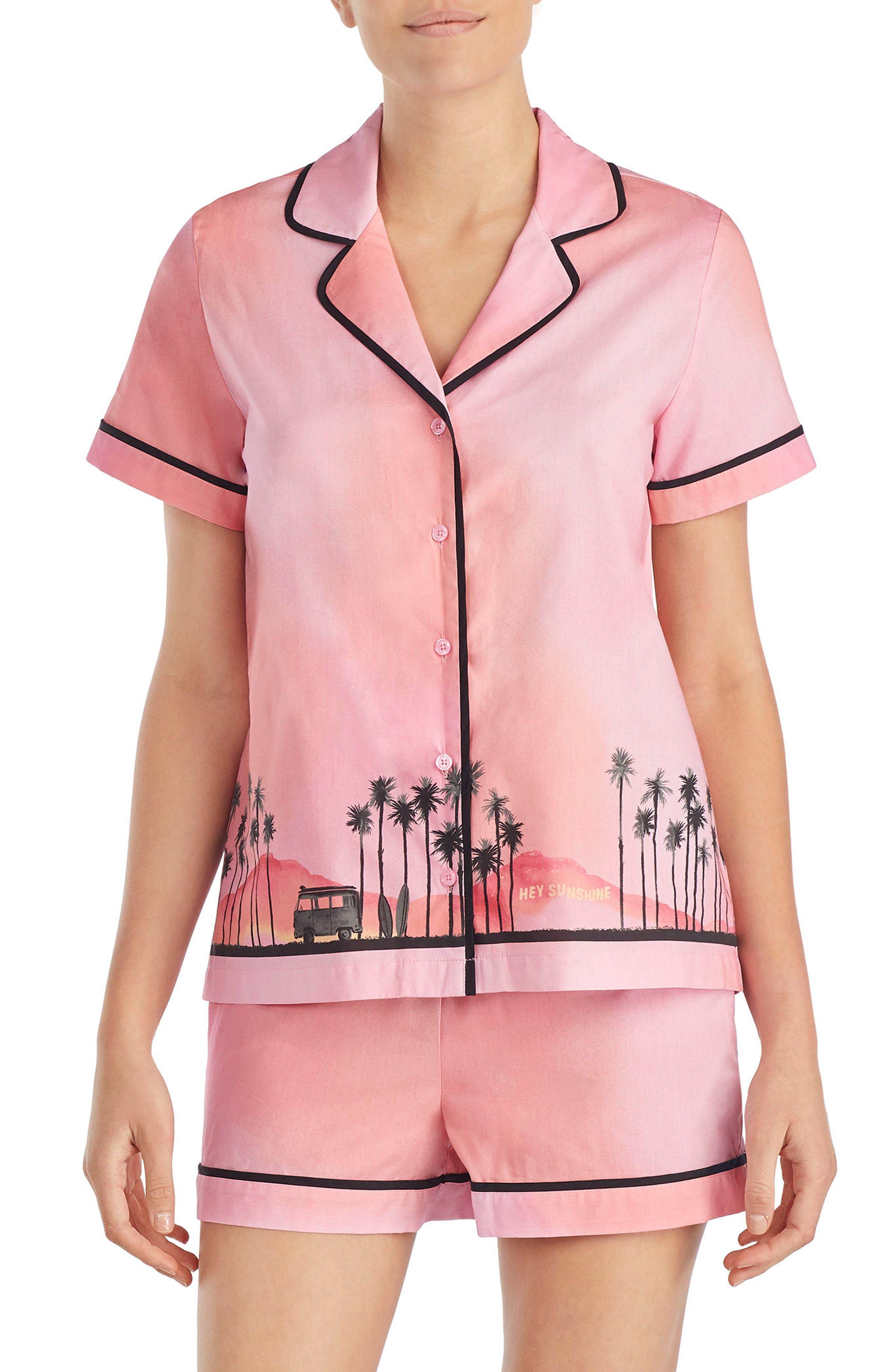kate spade new york boxer short pajamas