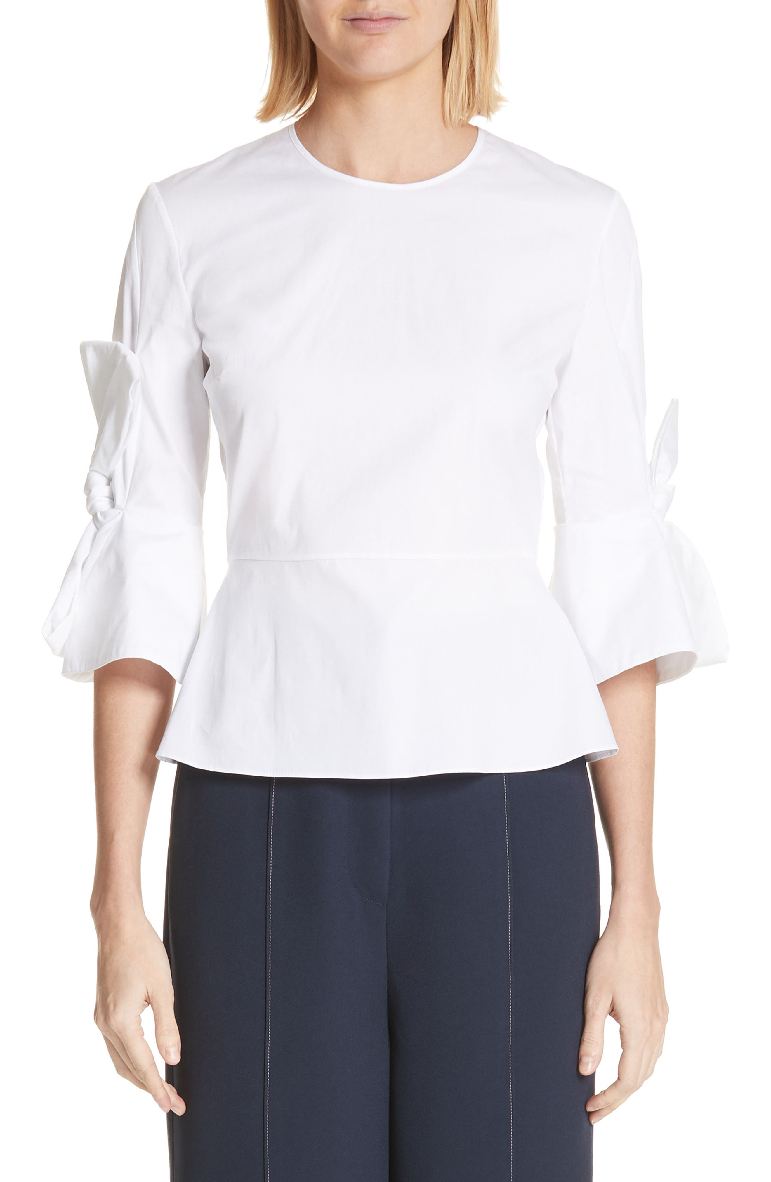 Kemi Top,                         Main,                         color, White