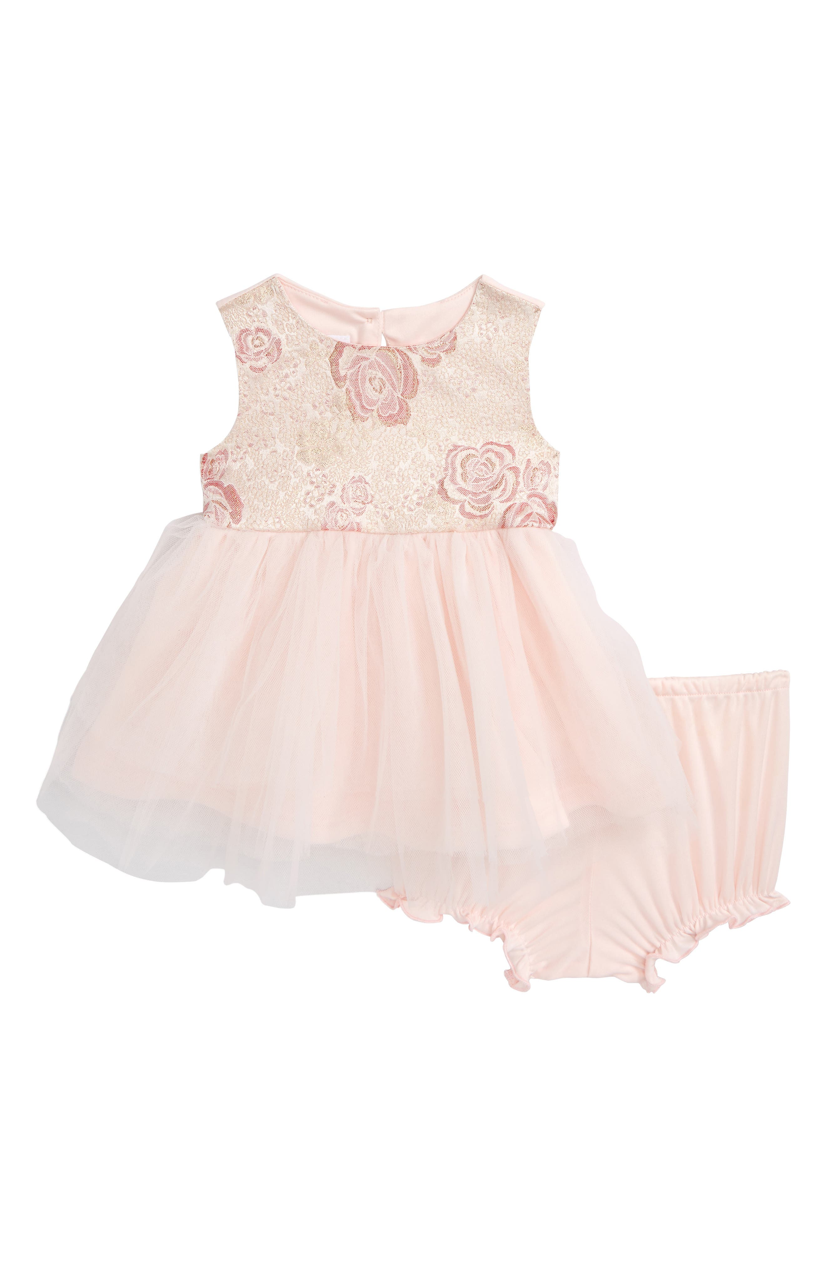 Frais Jacquard Ballerina Party Dress (Baby Girls)