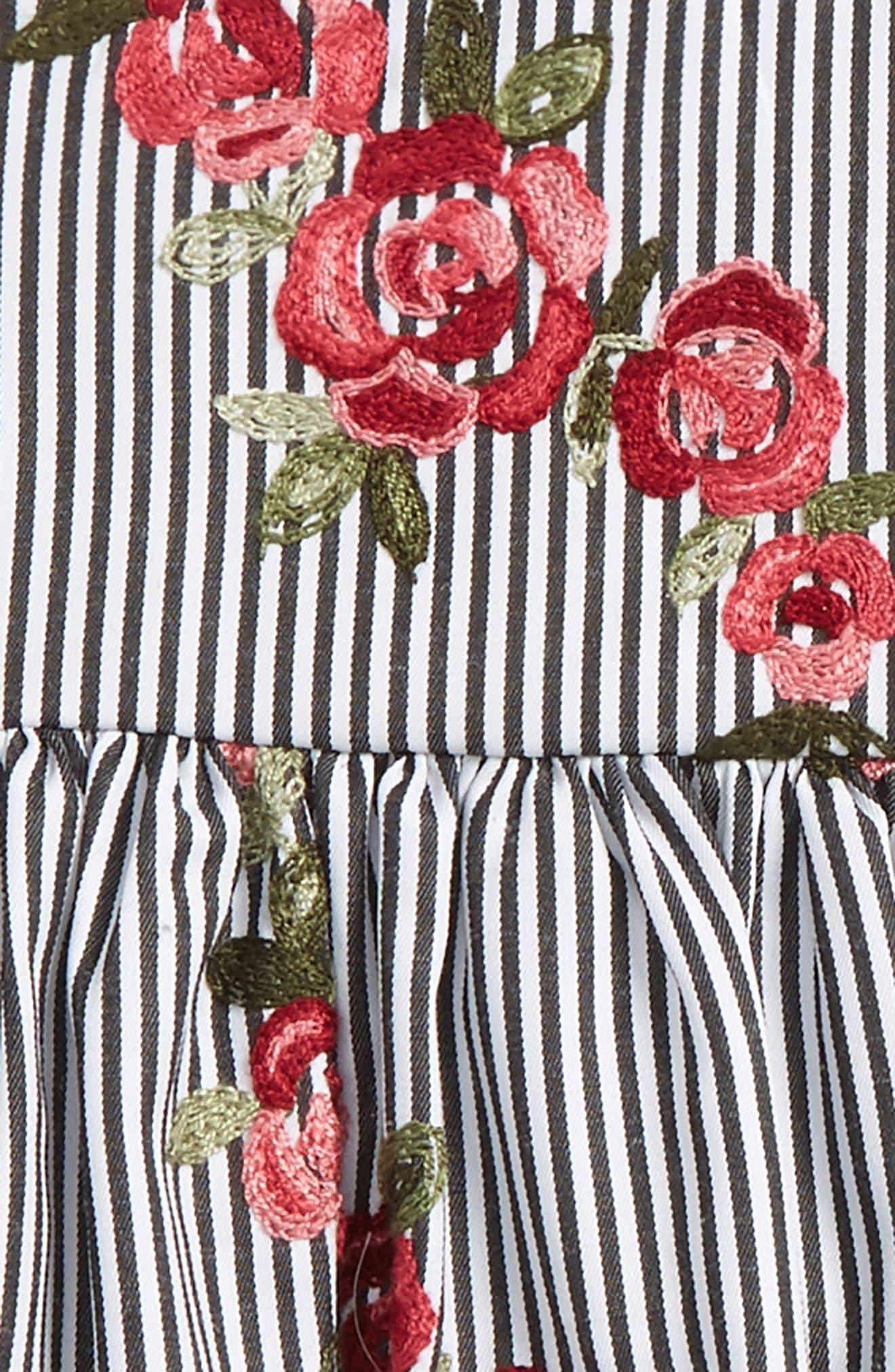 Alternate Image 2  - Frais Embroidered Dress (Baby Girls)