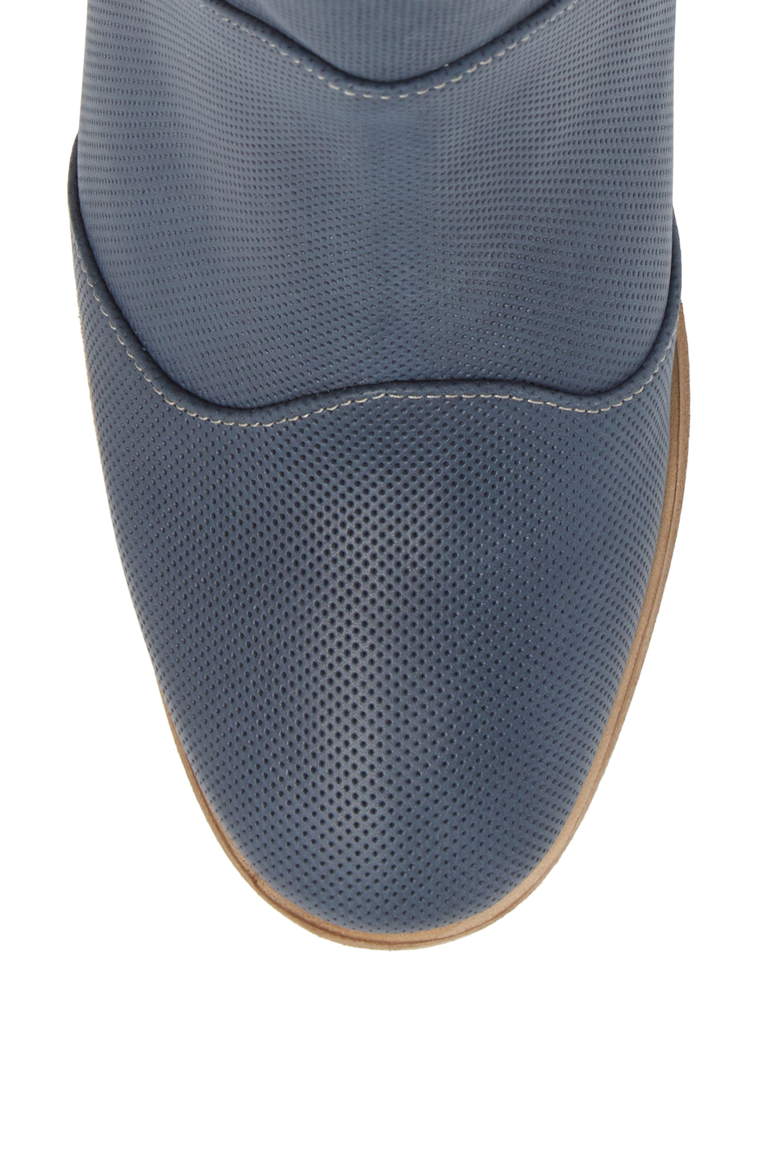 Robin Bootie,                             Alternate thumbnail 5, color,                             Blue Leather
