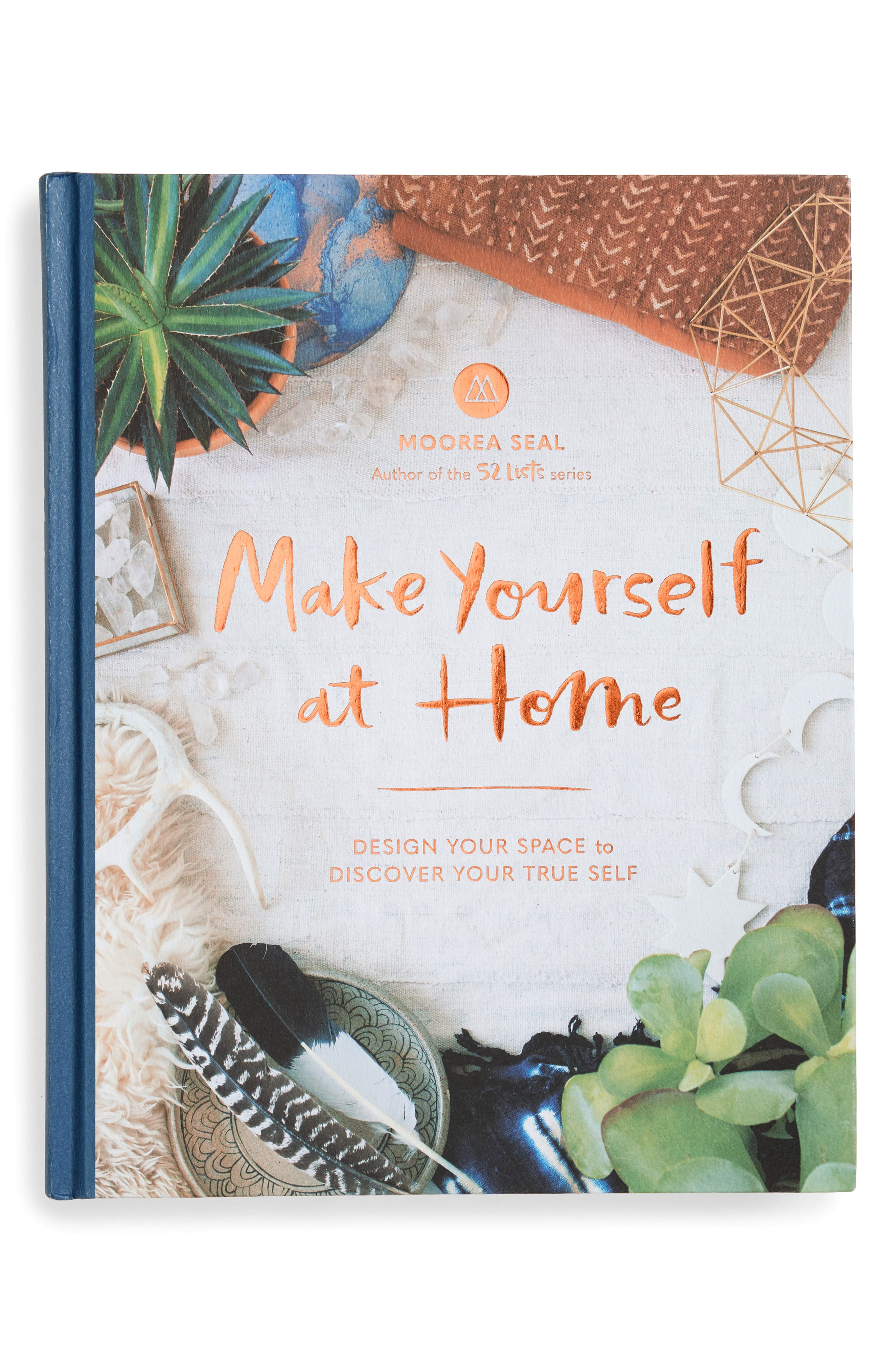 'Make Yourself at Home: Design Your Space to Discover Your True Self' Book,                             Main thumbnail 1, color,                             White