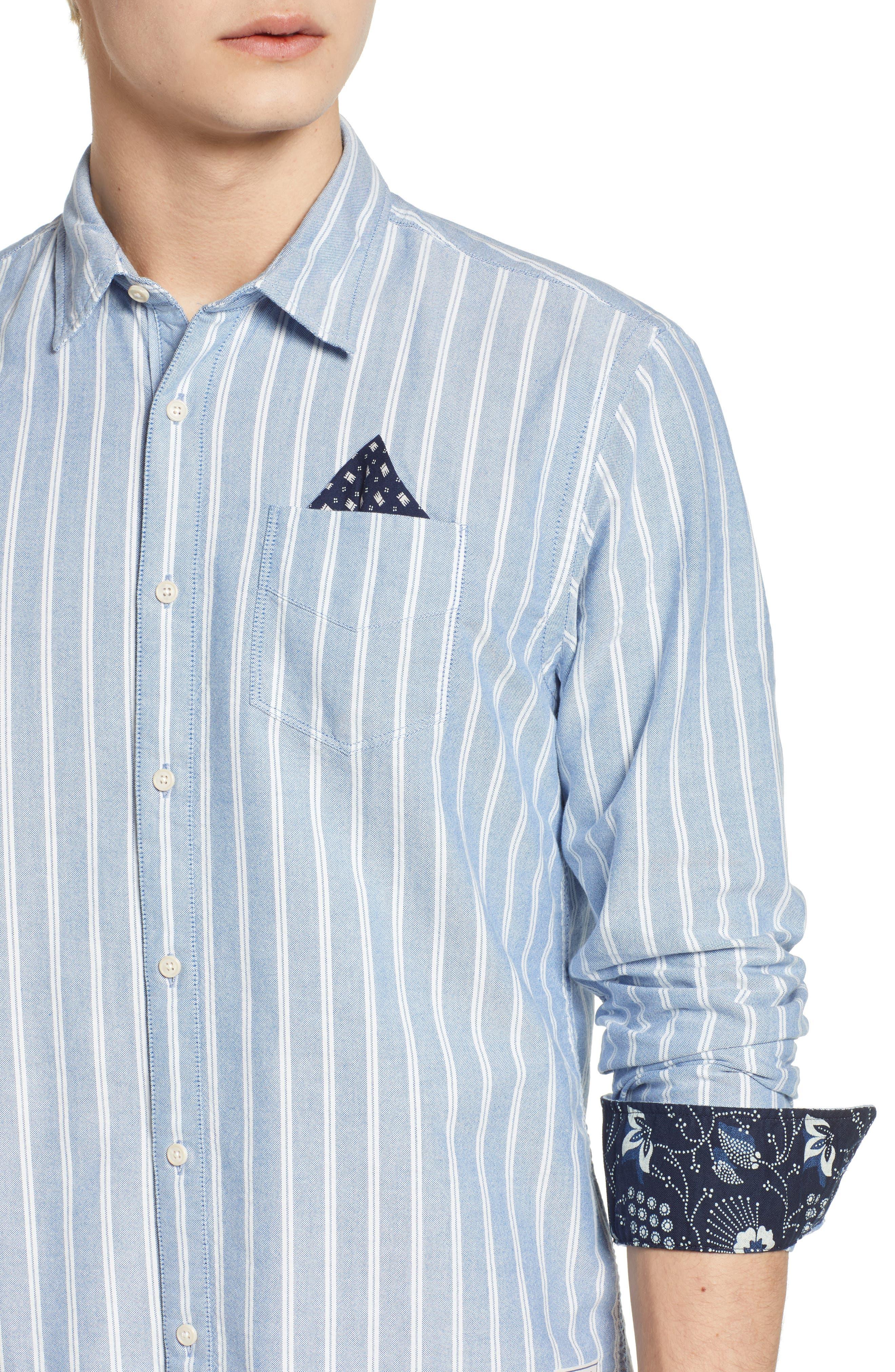 Oxford Shirt,                             Alternate thumbnail 2, color,                             Combo A