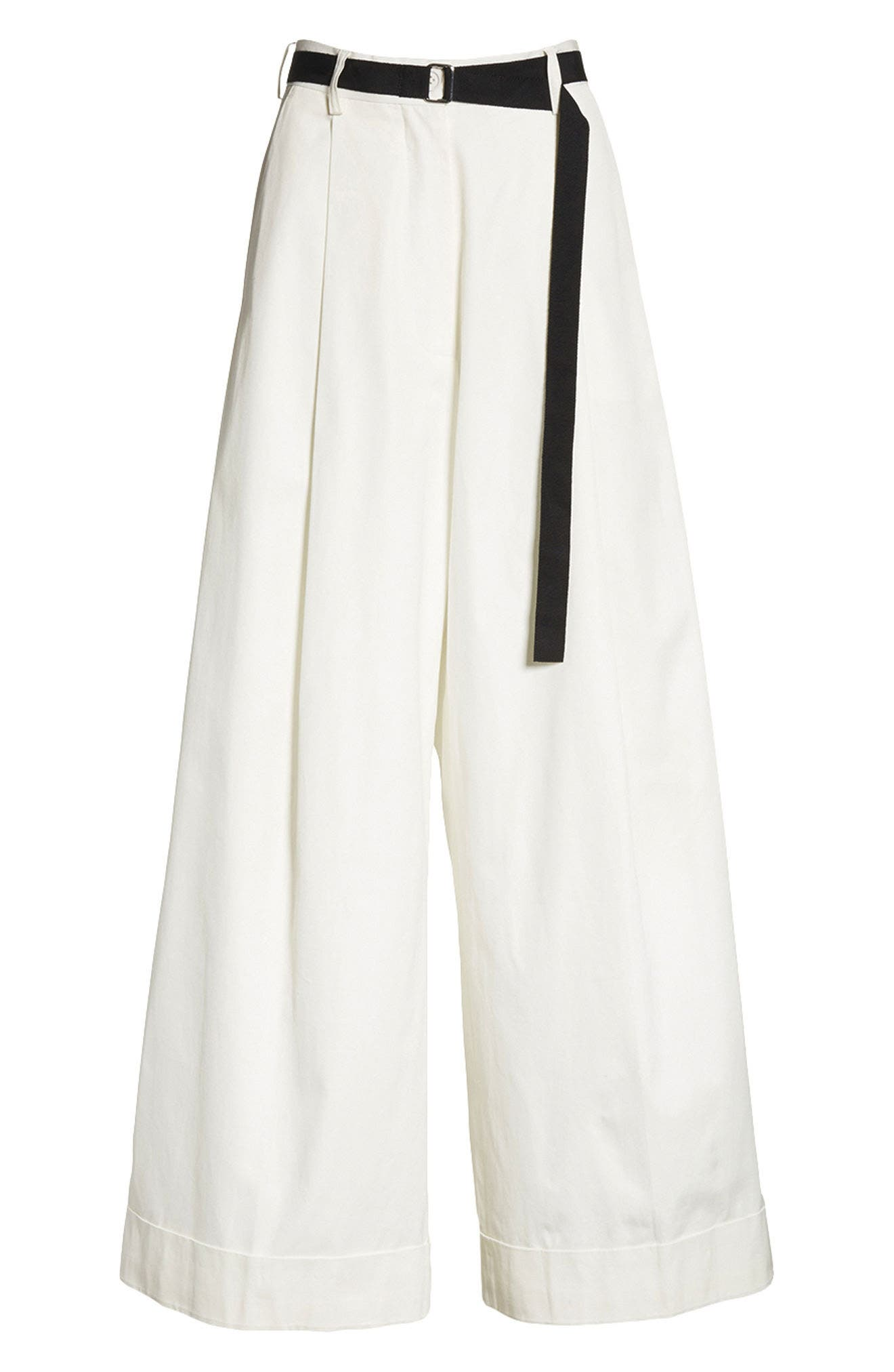 High Waist Wide Leg Pants,                             Alternate thumbnail 8, color,
